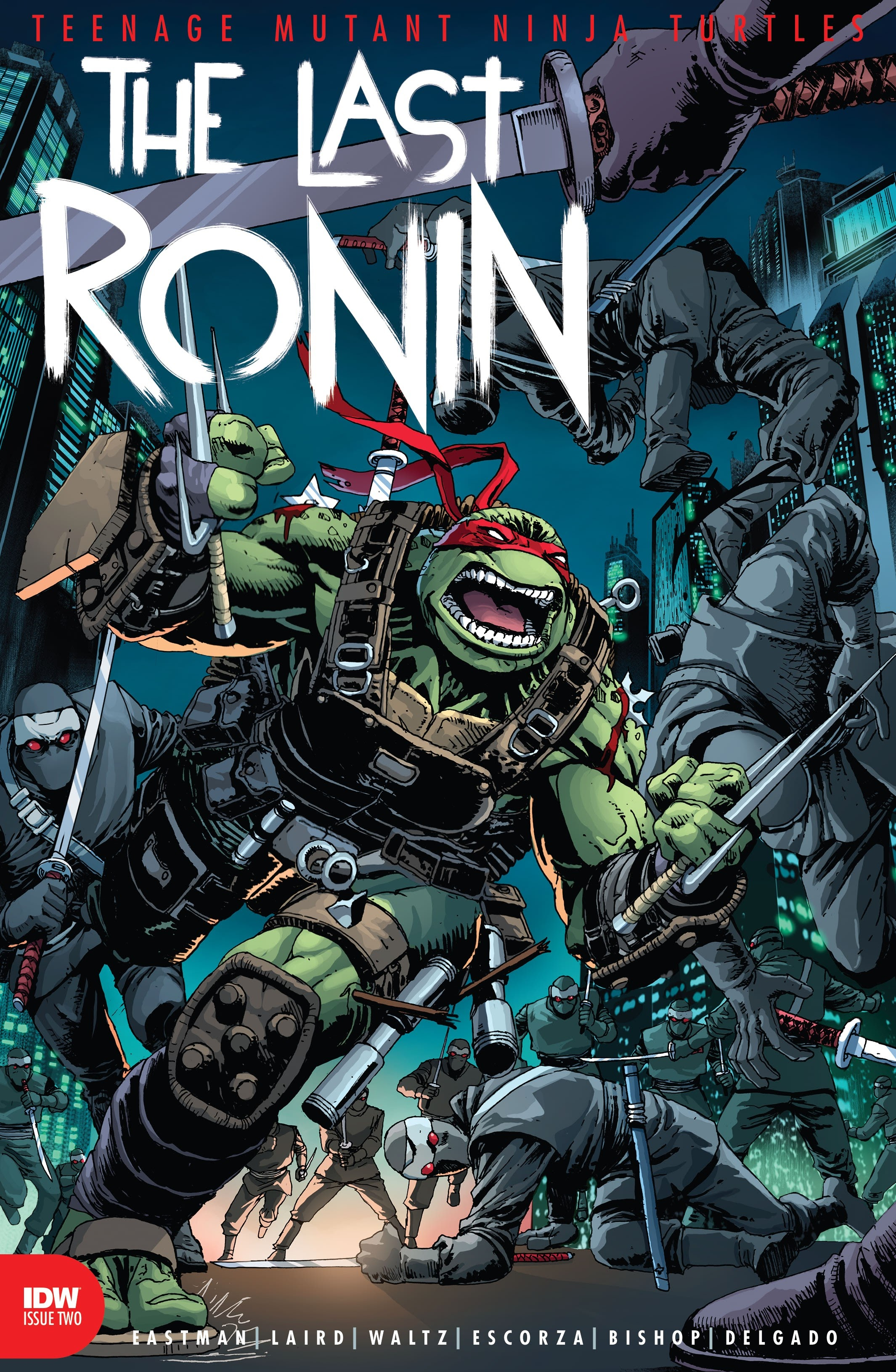 Teenage Mutant Ninja Turtles: The Last Ronin 2 Page 1