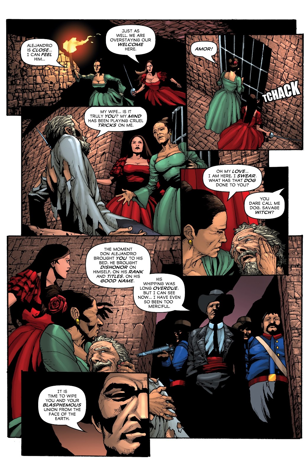 Read online Zorro: Swords of Hell comic -  Issue #4 - 8