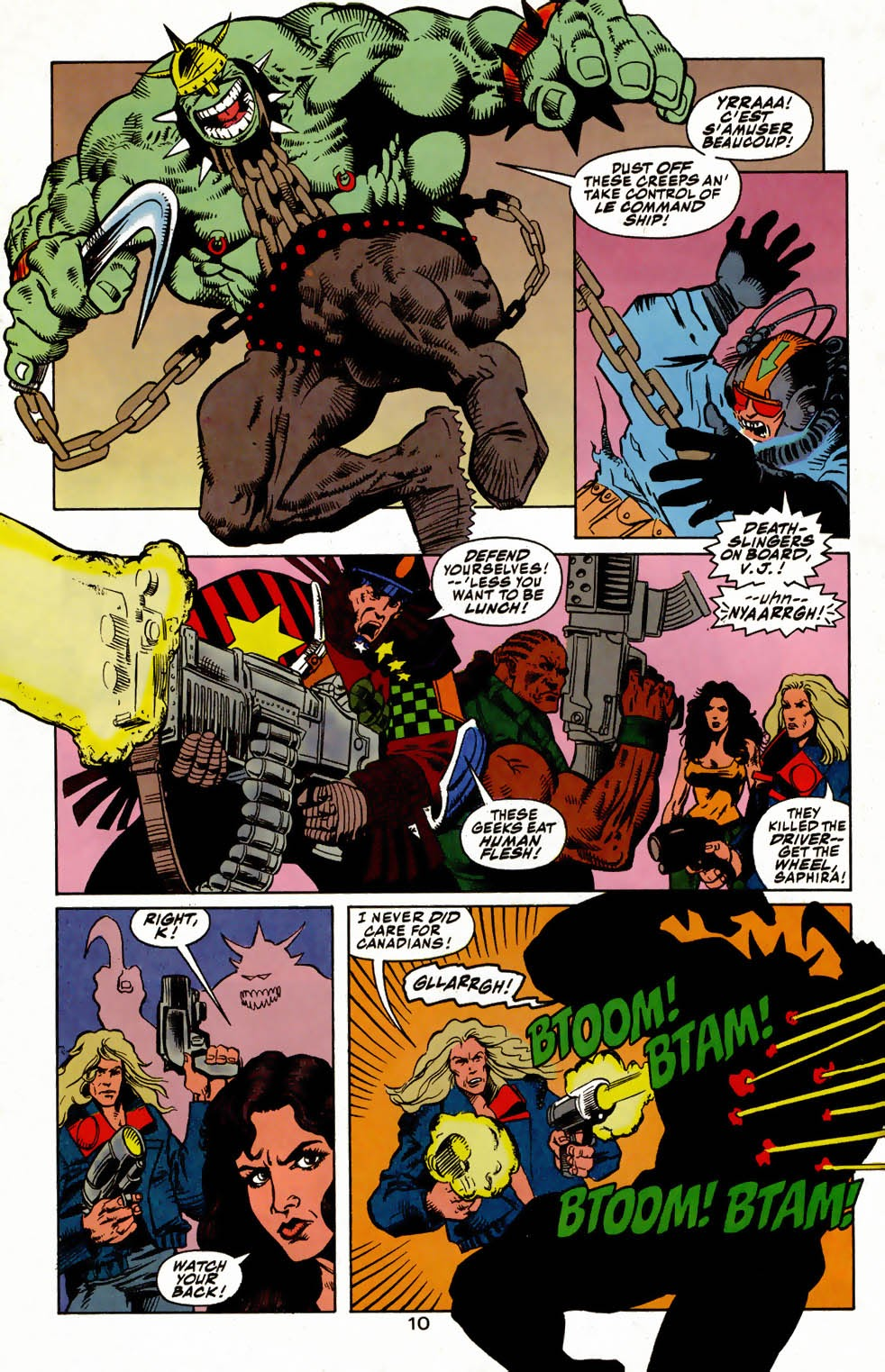 Read online Kamandi: At Earth's End comic -  Issue #4 - 14