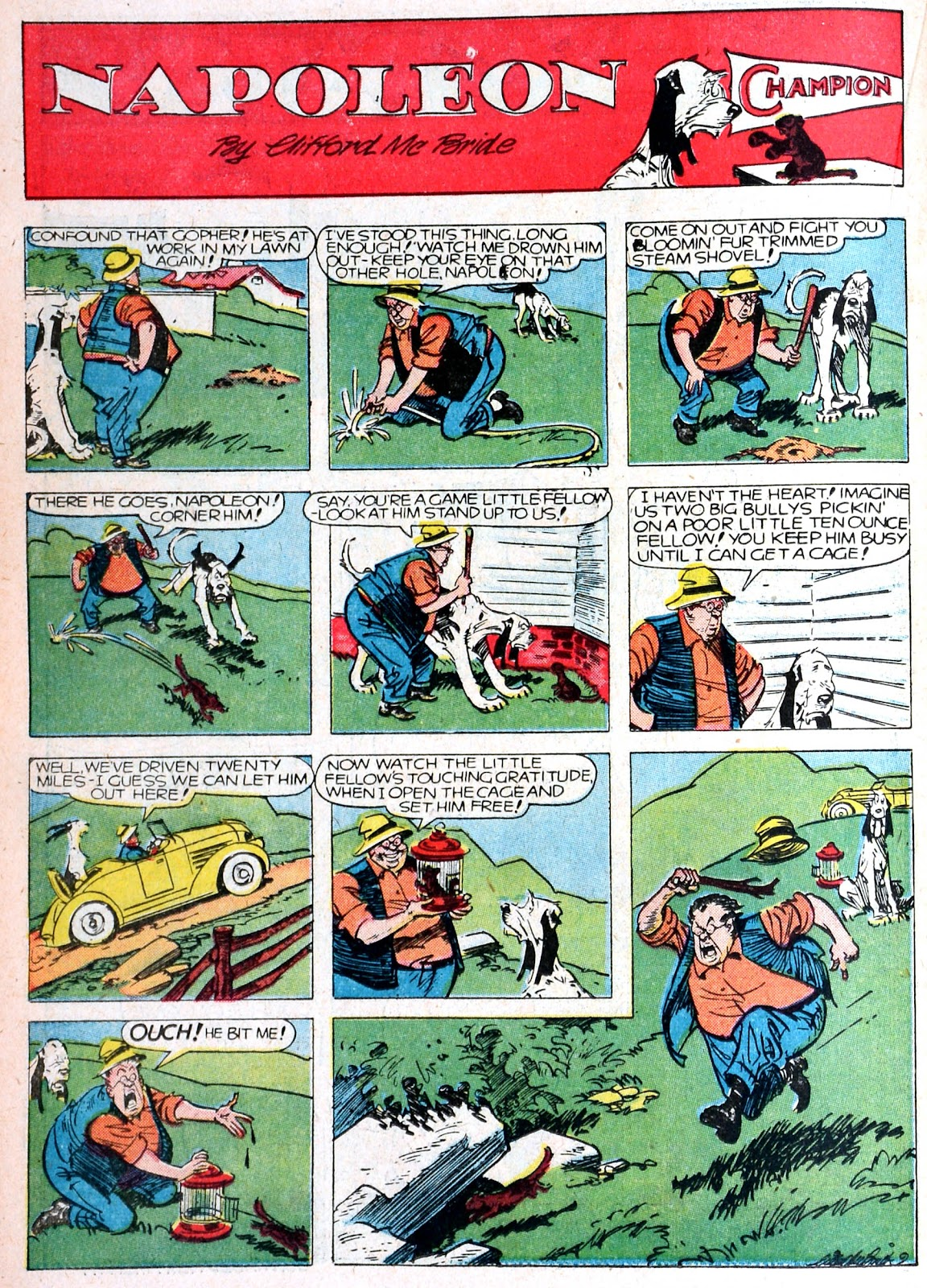 Read online Famous Funnies comic -  Issue #76 - 32