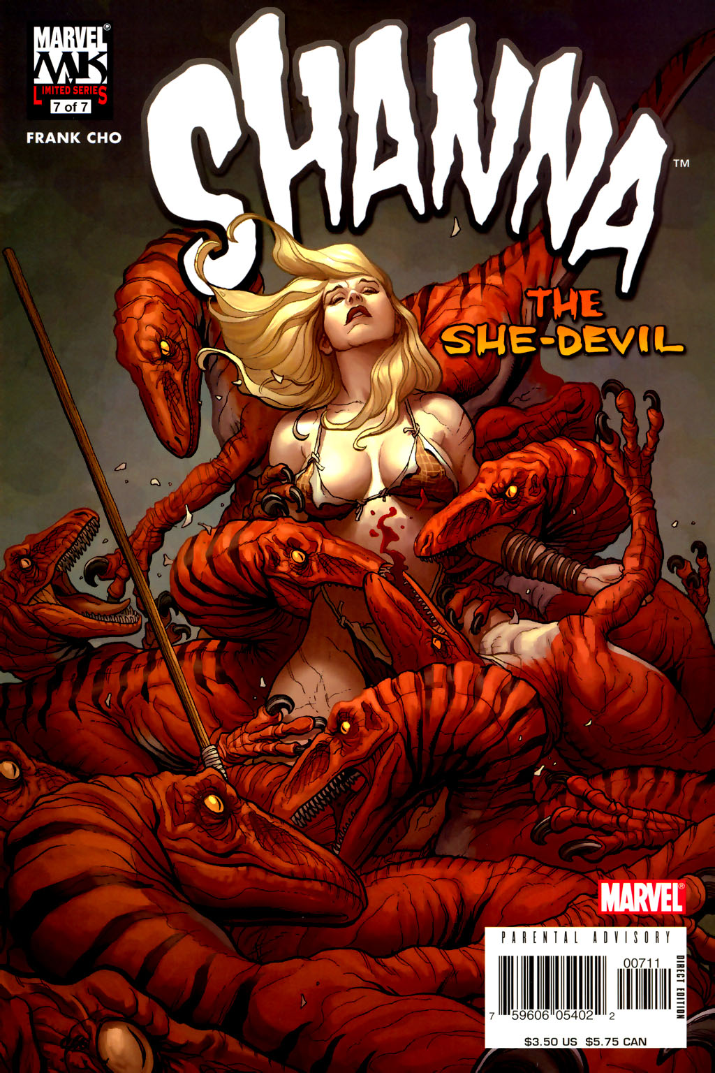 Read online Shanna, the She-Devil (2005) comic -  Issue #7 - 1
