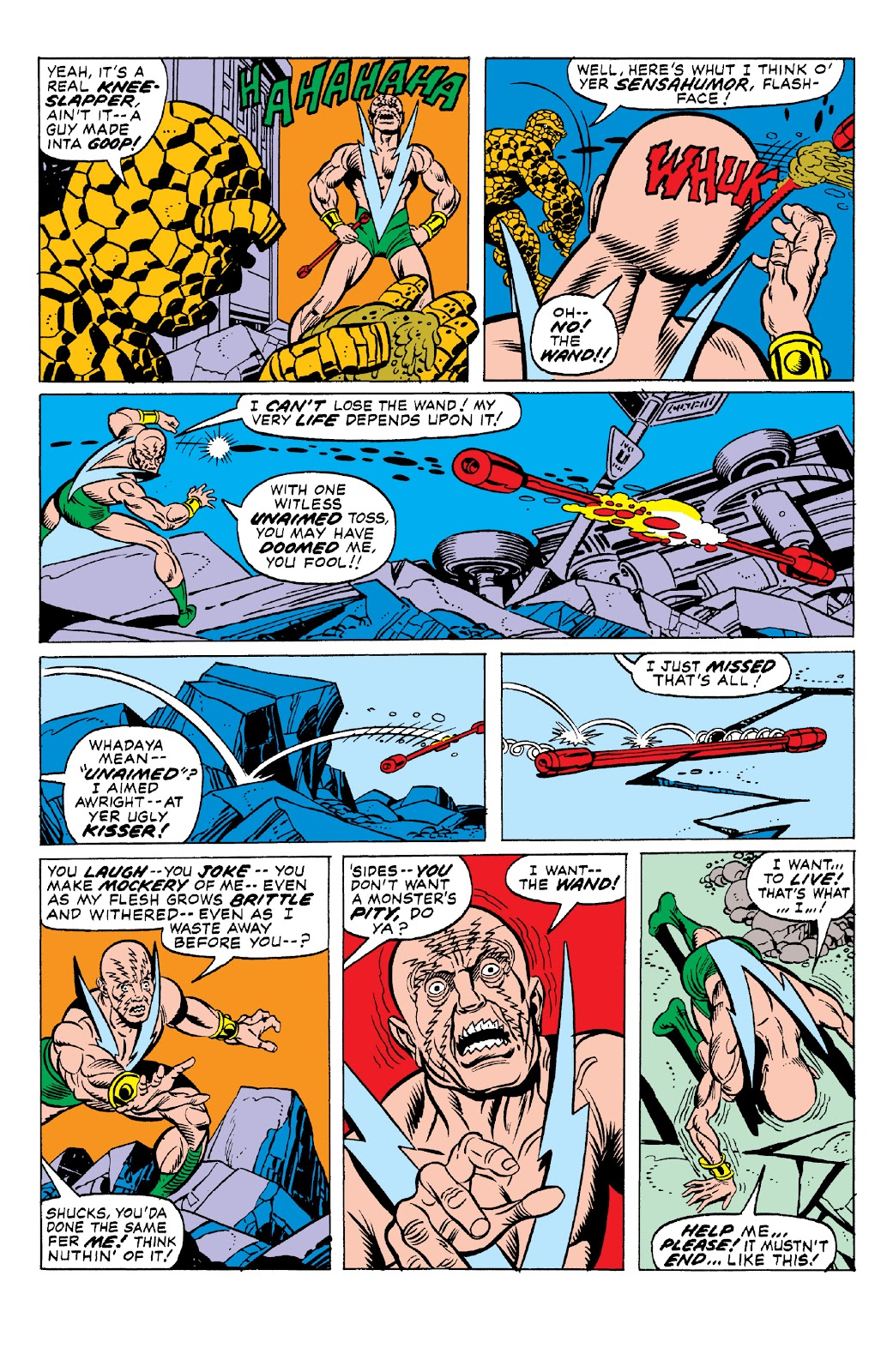 Read online Marvel Two-In-One Epic Collection: Cry Monster comic -  Issue # TPB (Part 1) - 63