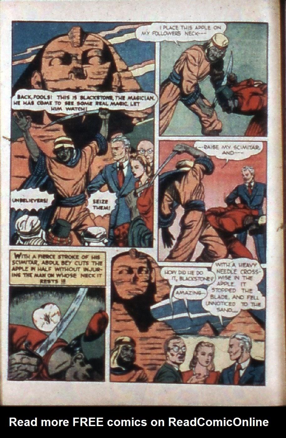 Read online Super-Magician Comics comic -  Issue #3 - 12