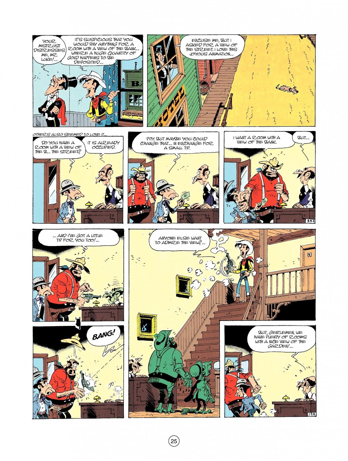 Read online A Lucky Luke Adventure comic -  Issue #37 - 25
