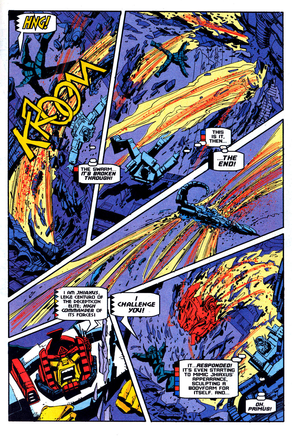 Read online Transformers: Generation 2 comic -  Issue #12 - 18