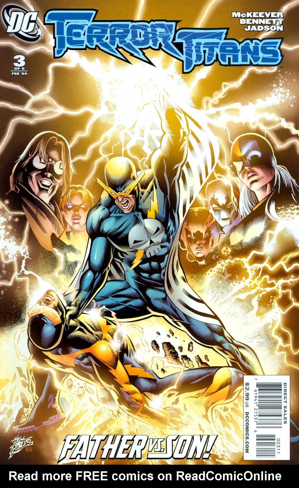 Terror Titans issue 3 - Page 1