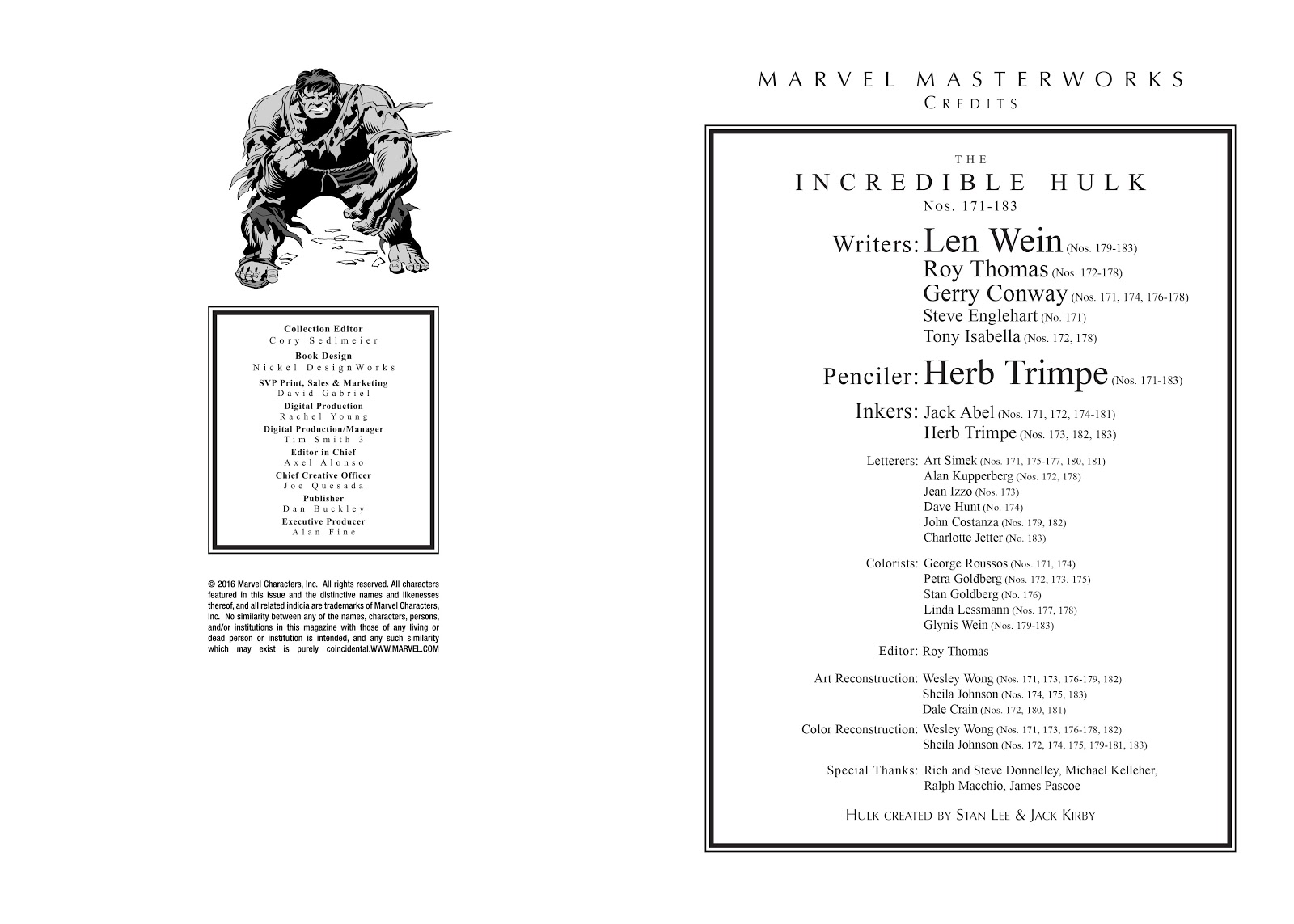 Read online Marvel Masterworks: The Incredible Hulk comic -  Issue # TPB 10 (Part 1) - 3