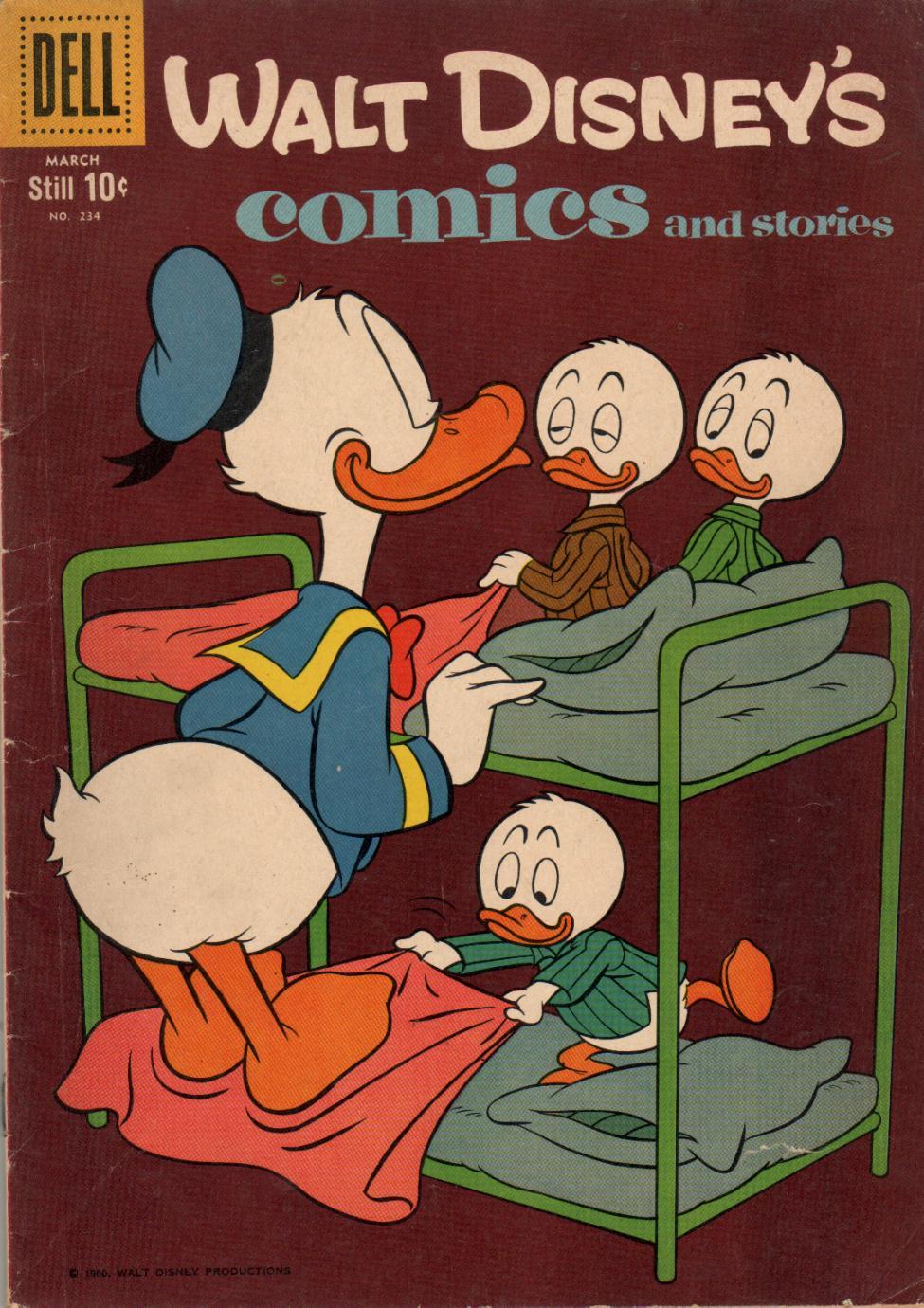 Walt Disneys Comics and Stories 234 Page 1