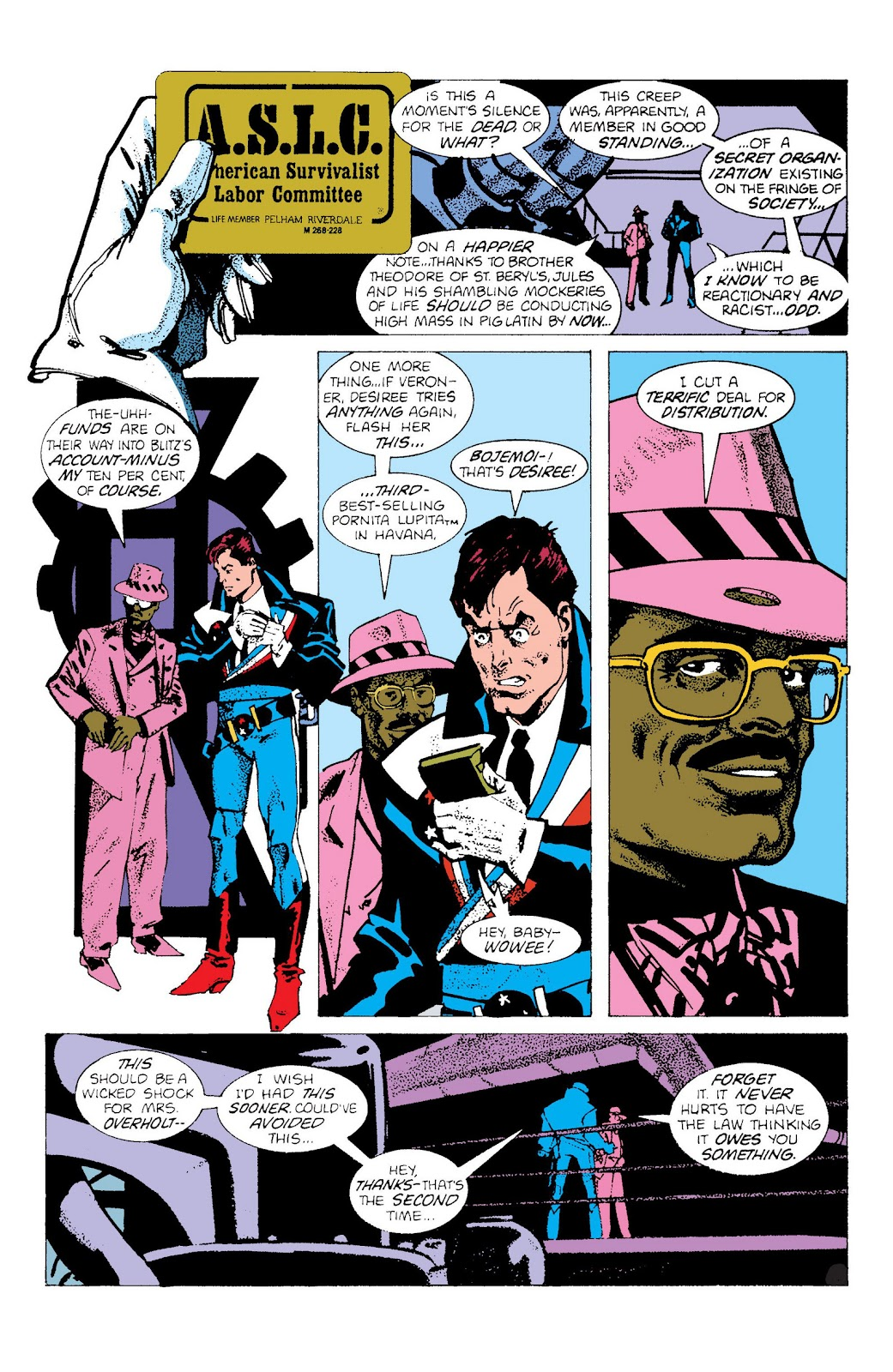 American Flagg! issue Definitive Collection (Part 2) - Page 87