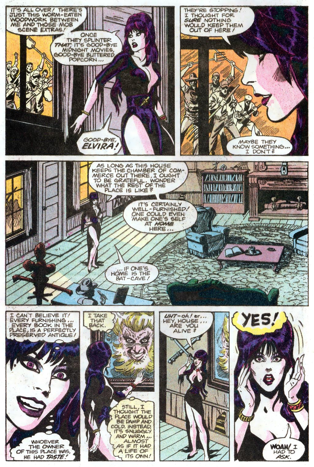 Elvira's House of Mystery Issue #1 #2 - English 4
