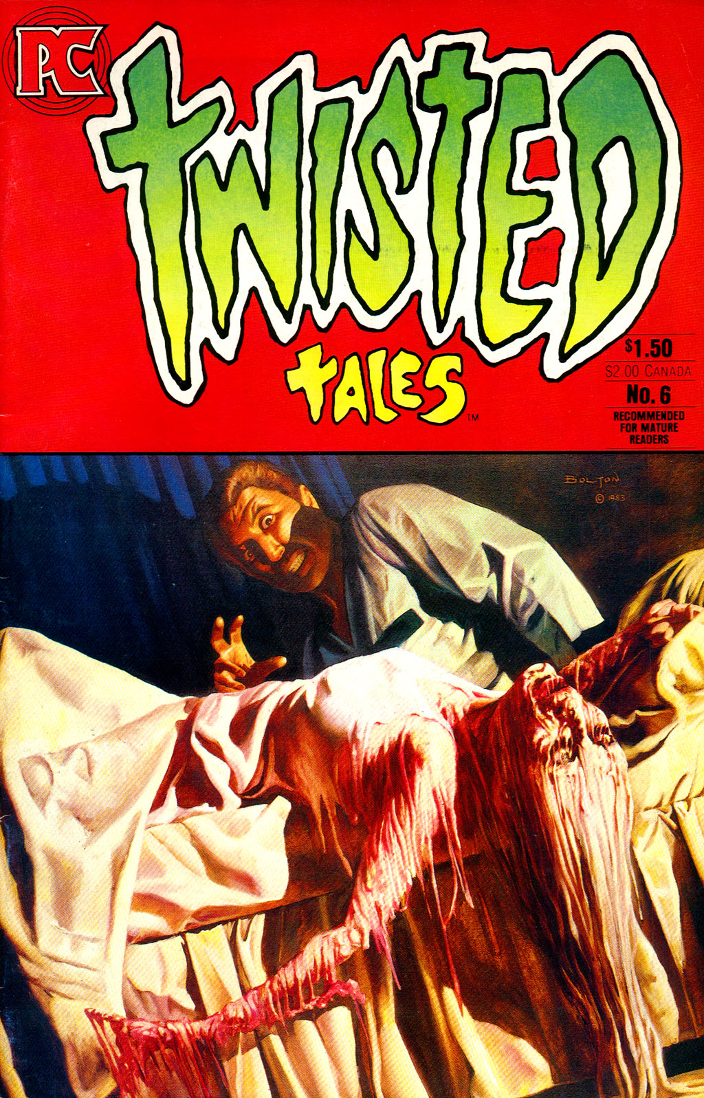 Read online Twisted Tales (1982) comic -  Issue #6 - 1