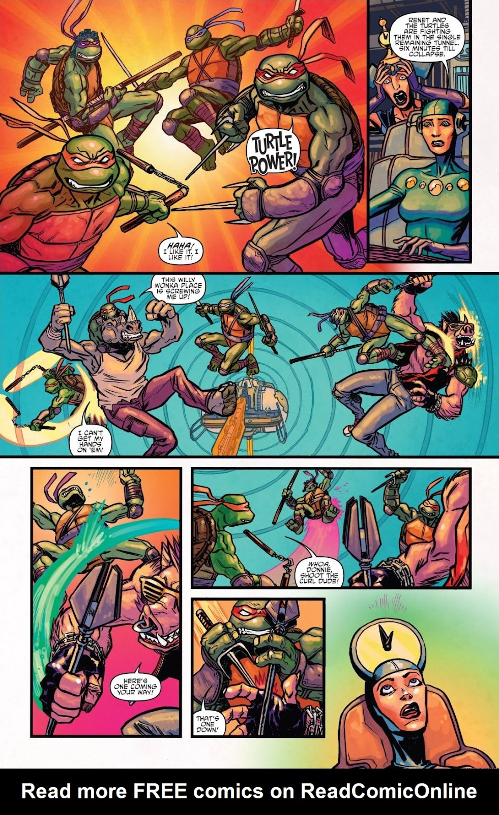 Read online Teenage Mutant Ninja Turtles: The IDW Collection comic -  Issue # TPB 8 (Part 1) - 99