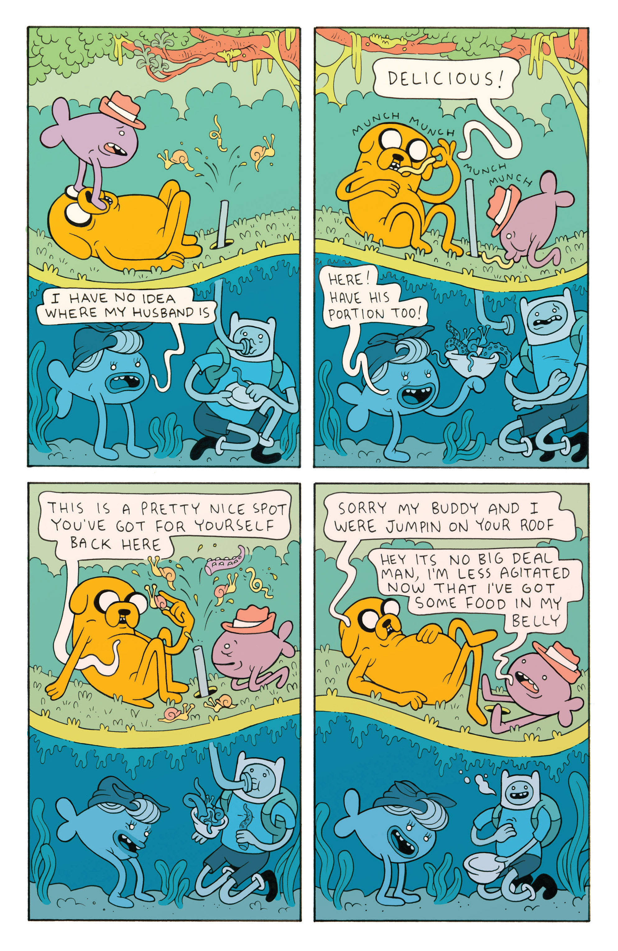 Read online Adventure Time comic -  Issue #26 - 26