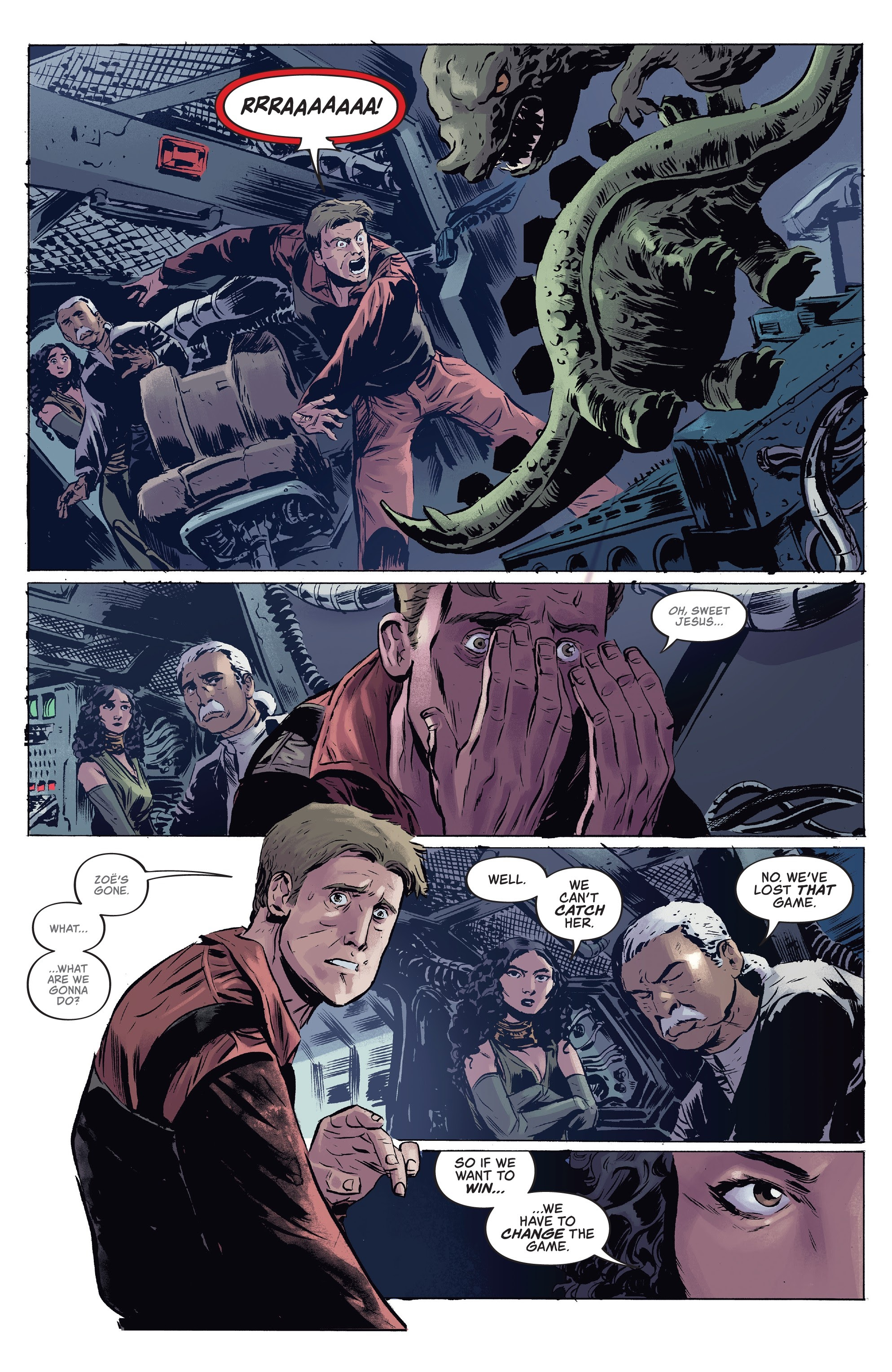 Read online Firefly comic -  Issue #7 - 10