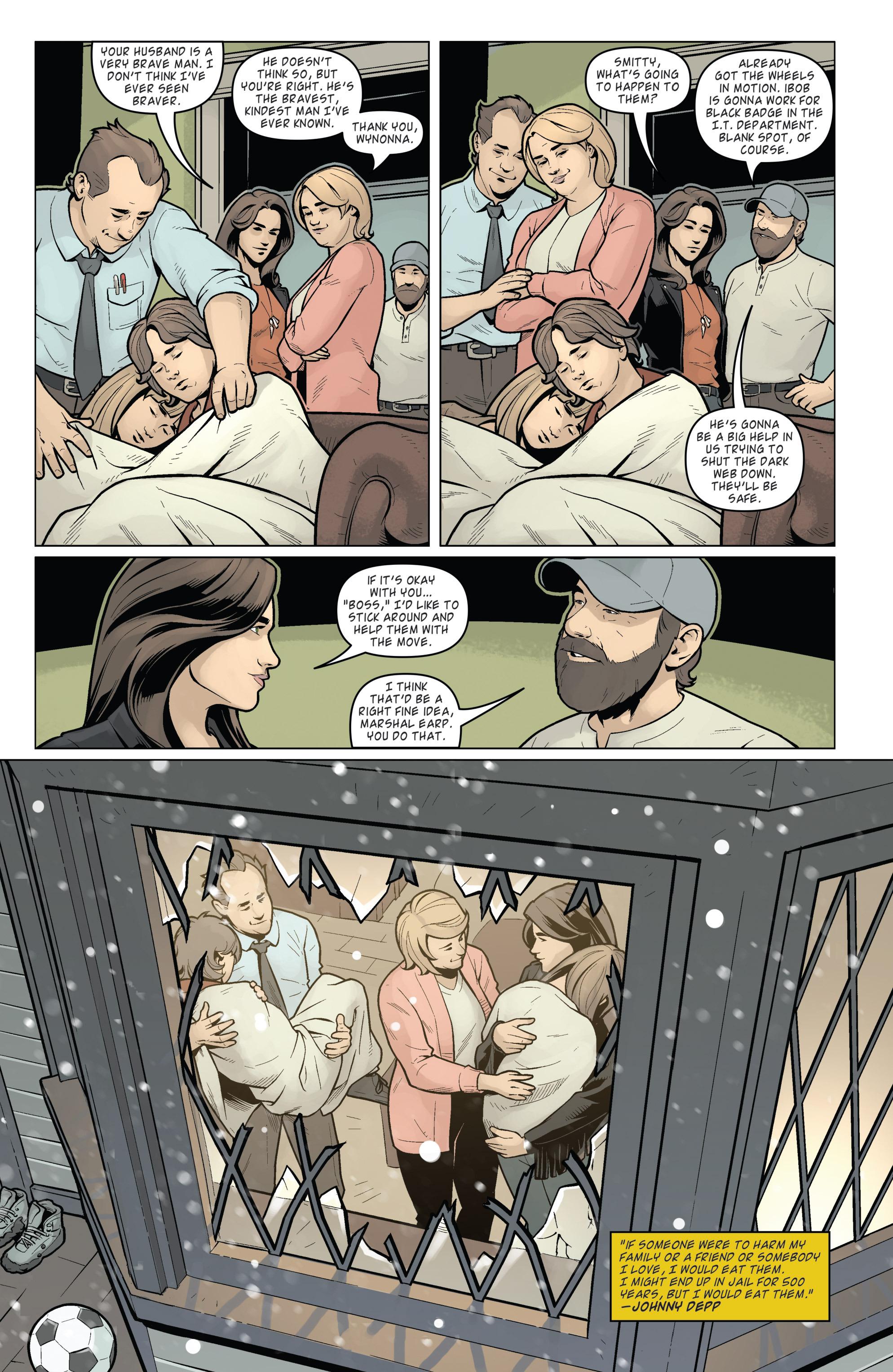 Read online Wynonna Earp (2016) comic -  Issue #8 - 22