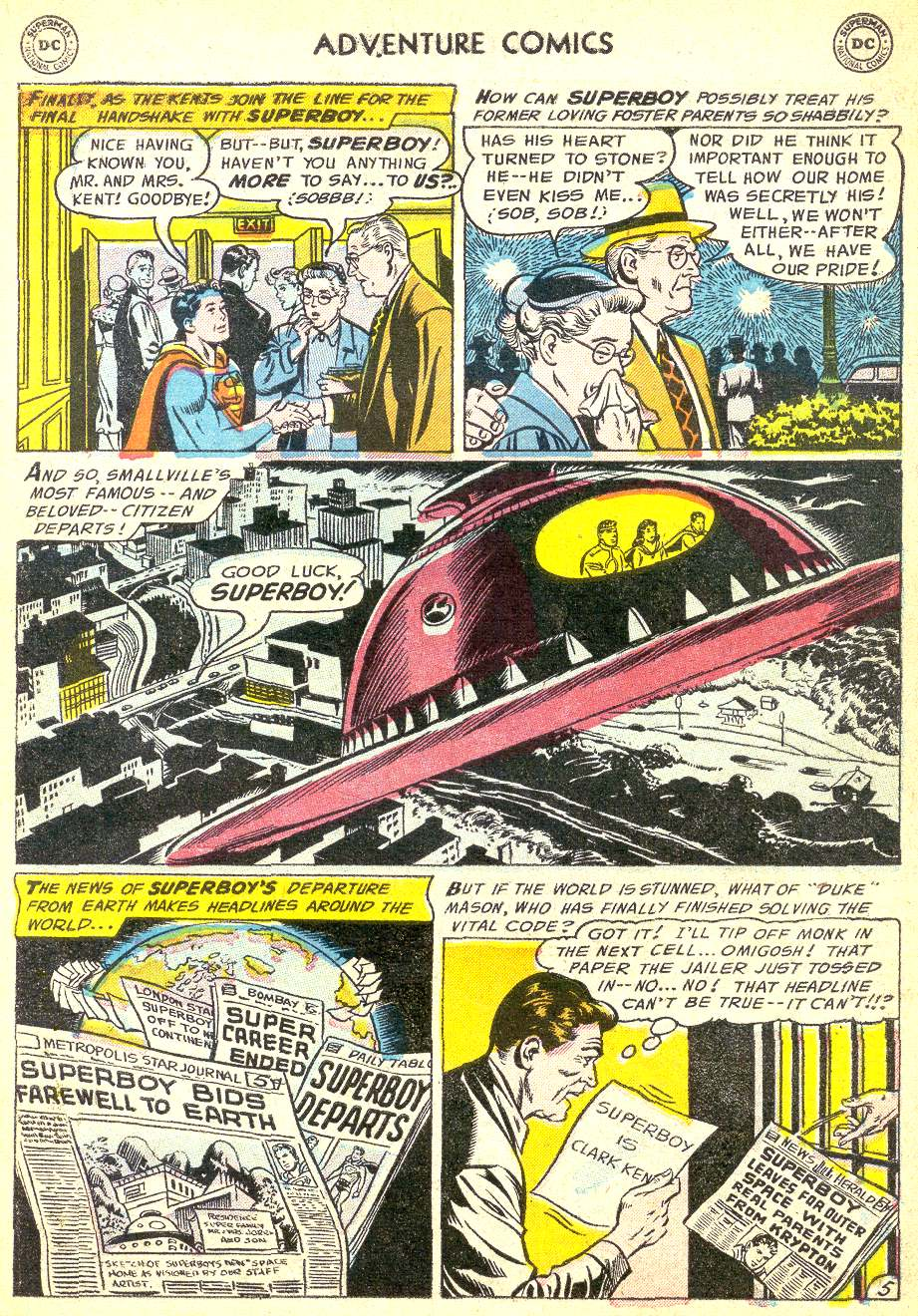 Read online Adventure Comics (1938) comic -  Issue #218 - 7