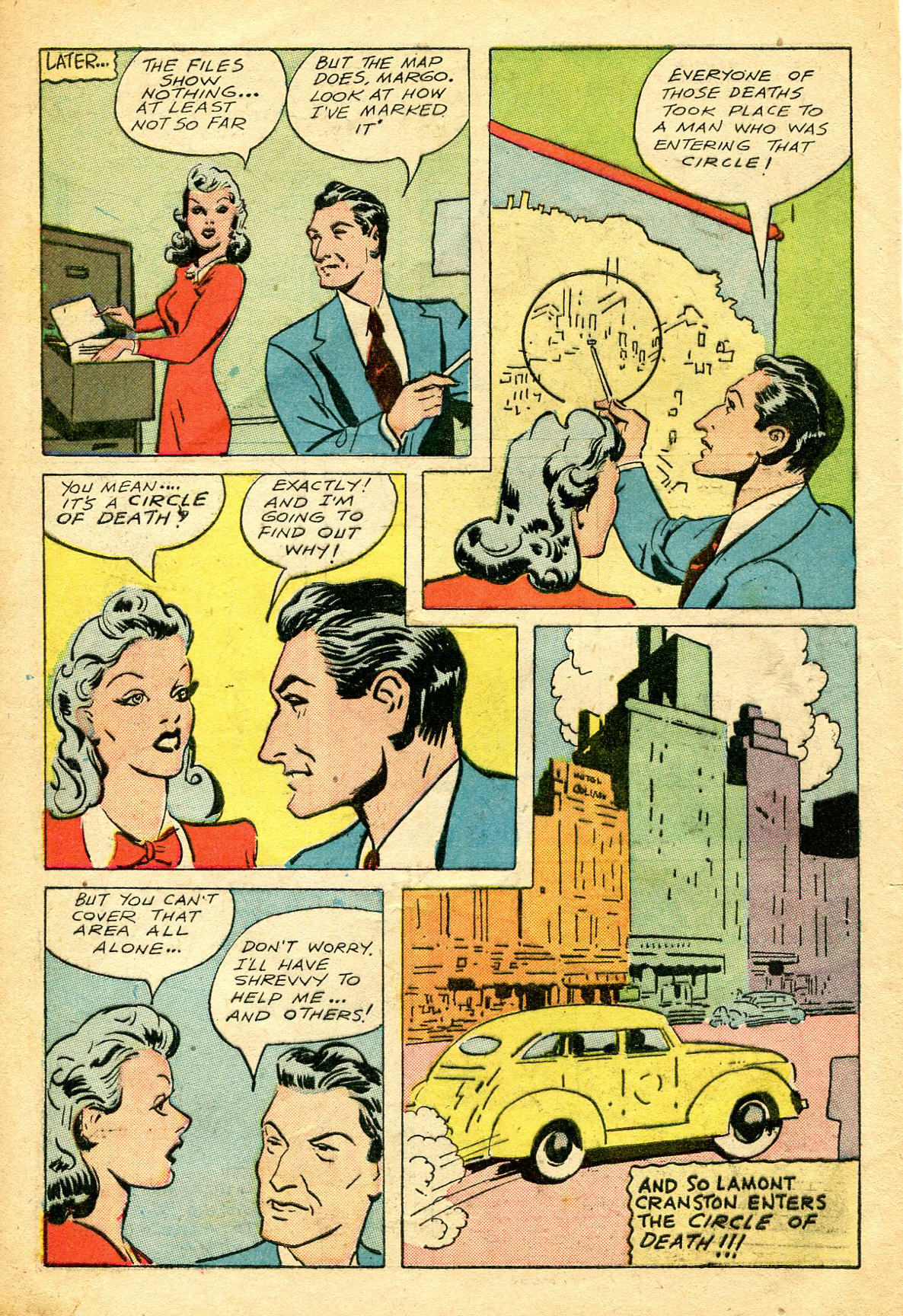 Read online Shadow Comics comic -  Issue #51 - 7
