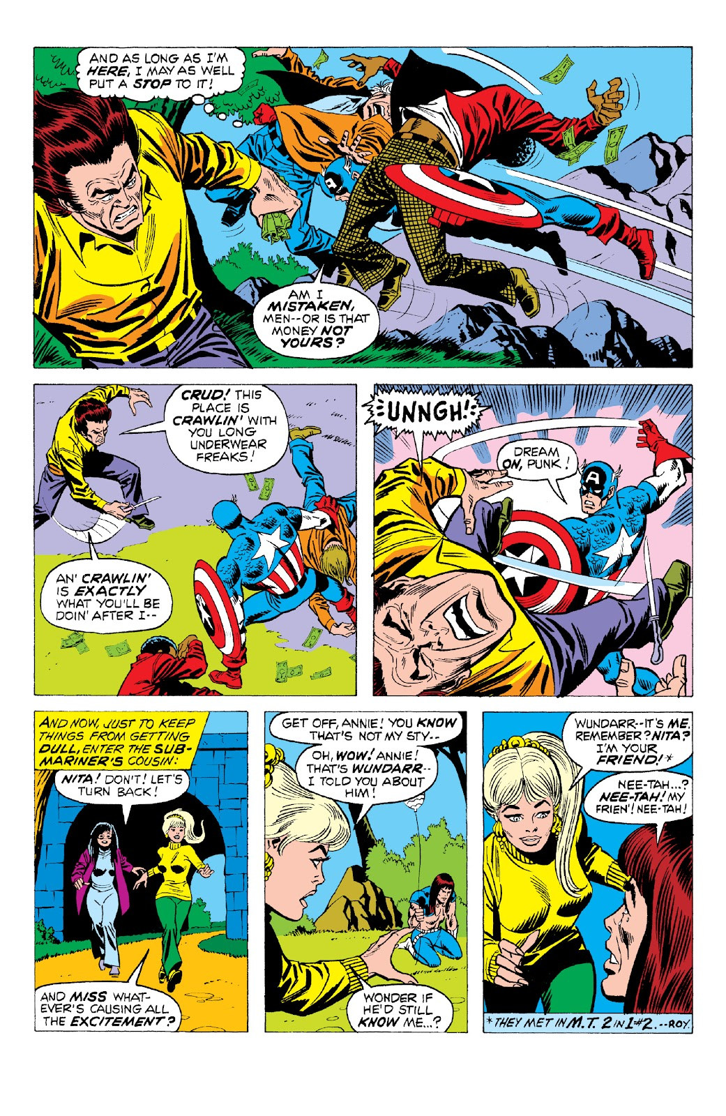 Read online Marvel Two-In-One Epic Collection: Cry Monster comic -  Issue # TPB (Part 2) - 11