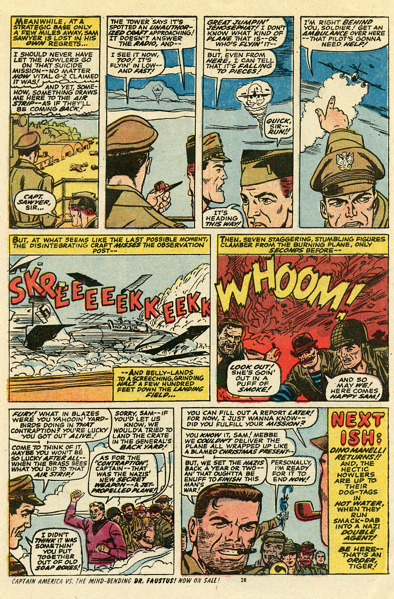Read online Sgt. Fury comic -  Issue #111 - 30