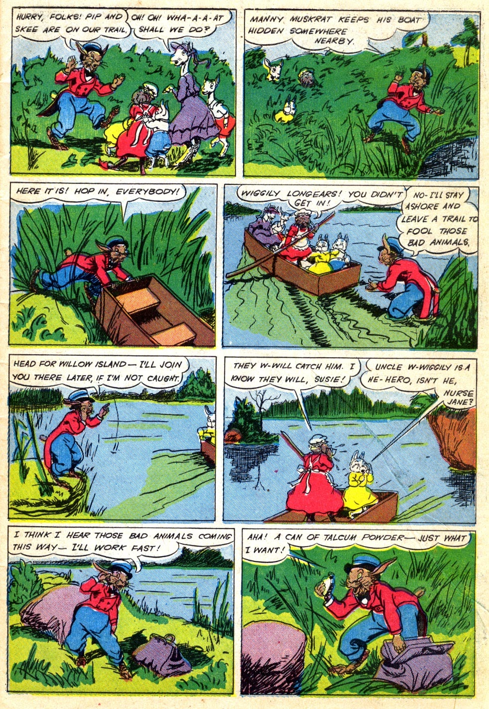 Read online Animal Comics comic -  Issue #22 - 9