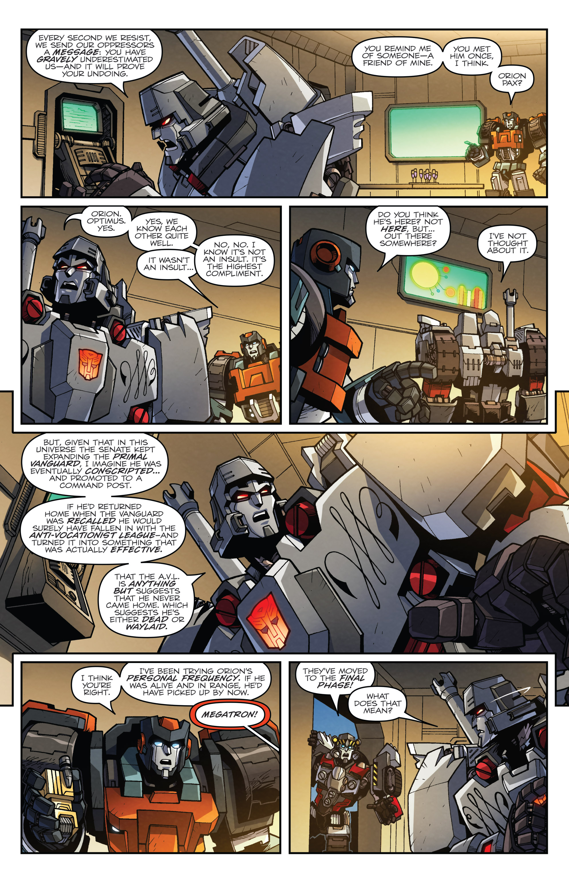 Read online Transformers: Lost Light comic -  Issue #5 - 8