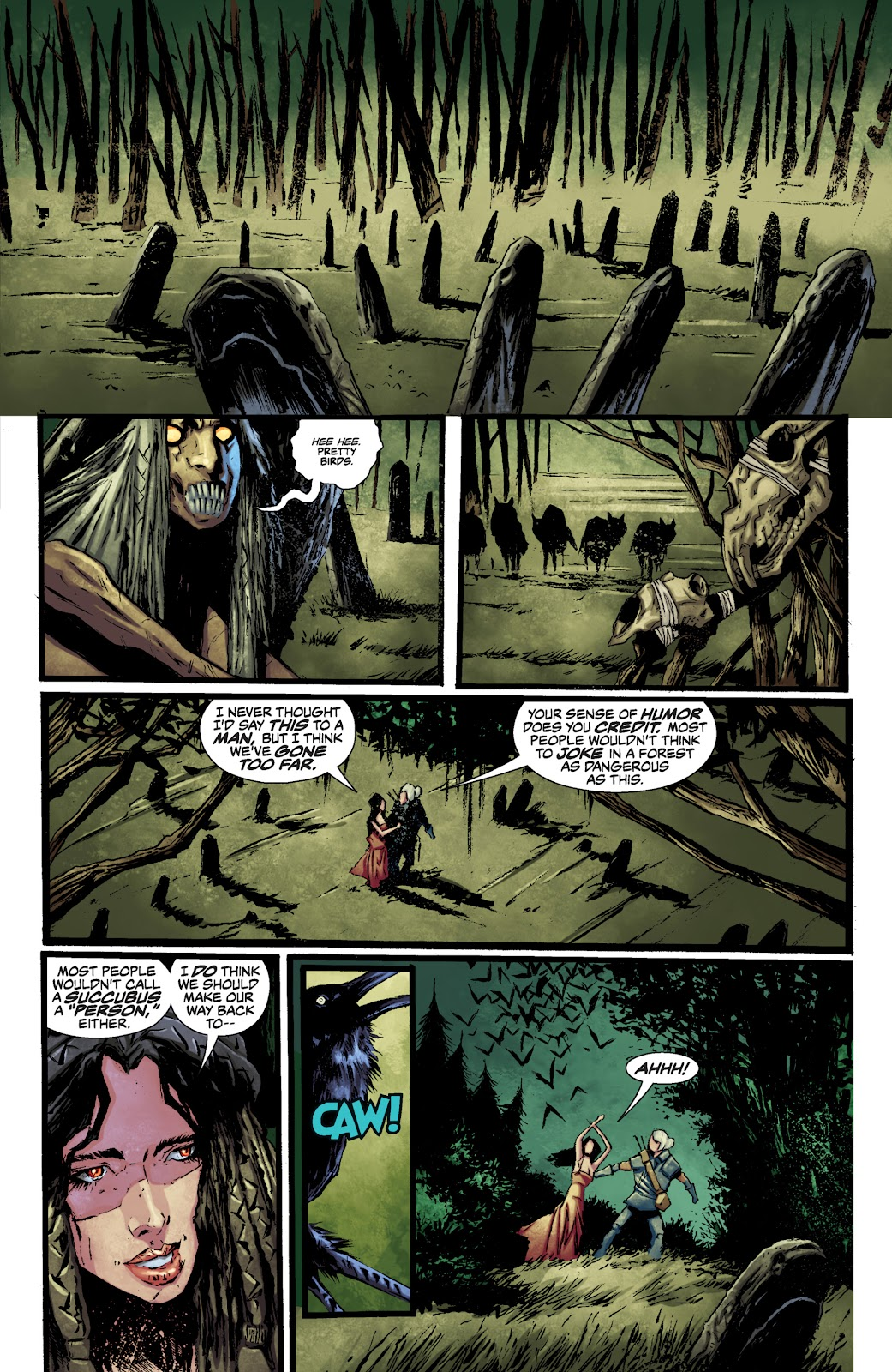 Read online The Witcher Omnibus comic -  Issue # TPB (Part 1) - 70