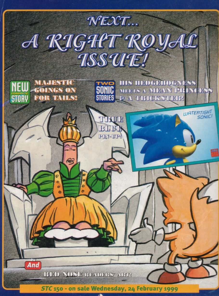 Read online Sonic the Comic comic -  Issue #149 - 21