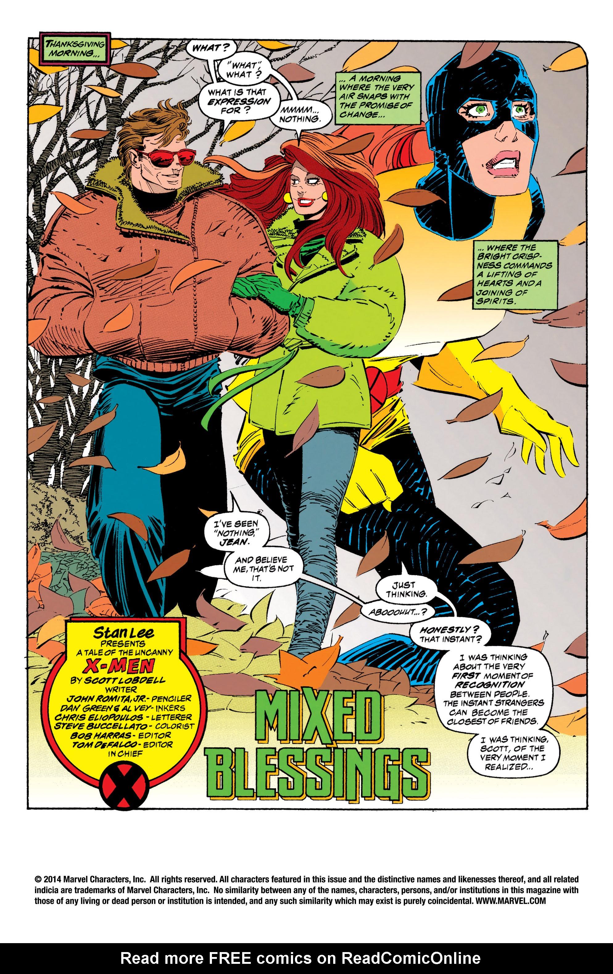 Read online Uncanny X-Men (1963) comic -  Issue #308 - 2