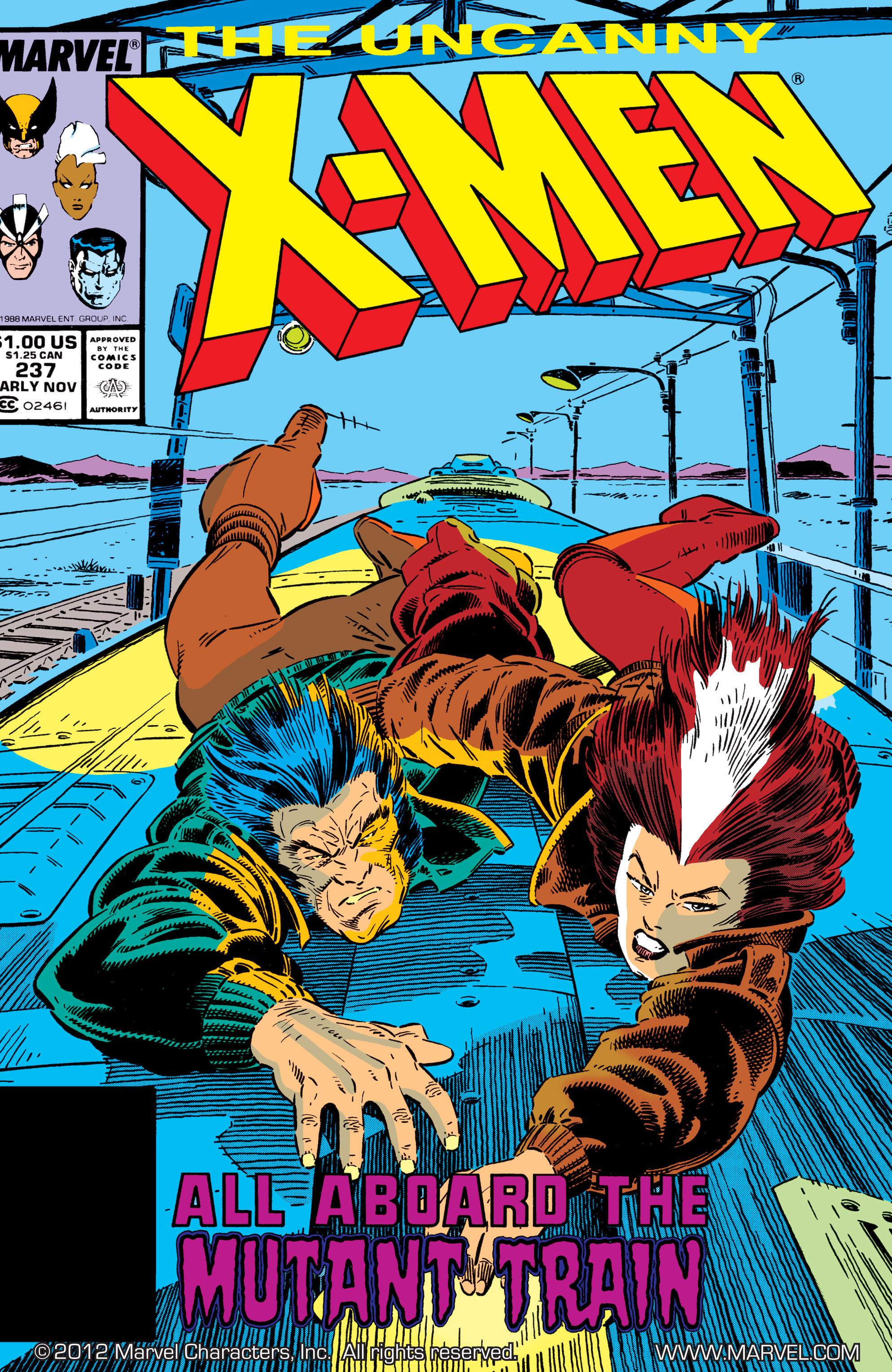 Read online Uncanny X-Men (1963) comic -  Issue #237 - 1
