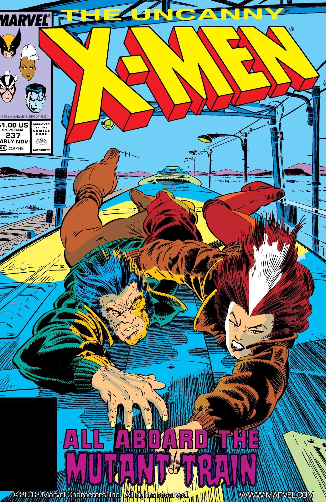 Uncanny X-Men (1963) issue 237 - Page 1