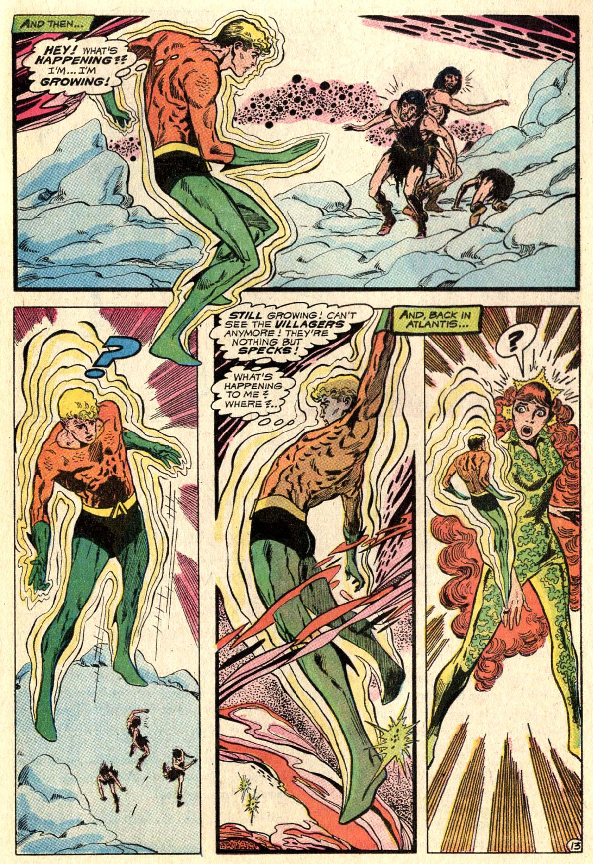 Read online Aquaman (1962) comic -  Issue #52 - 17