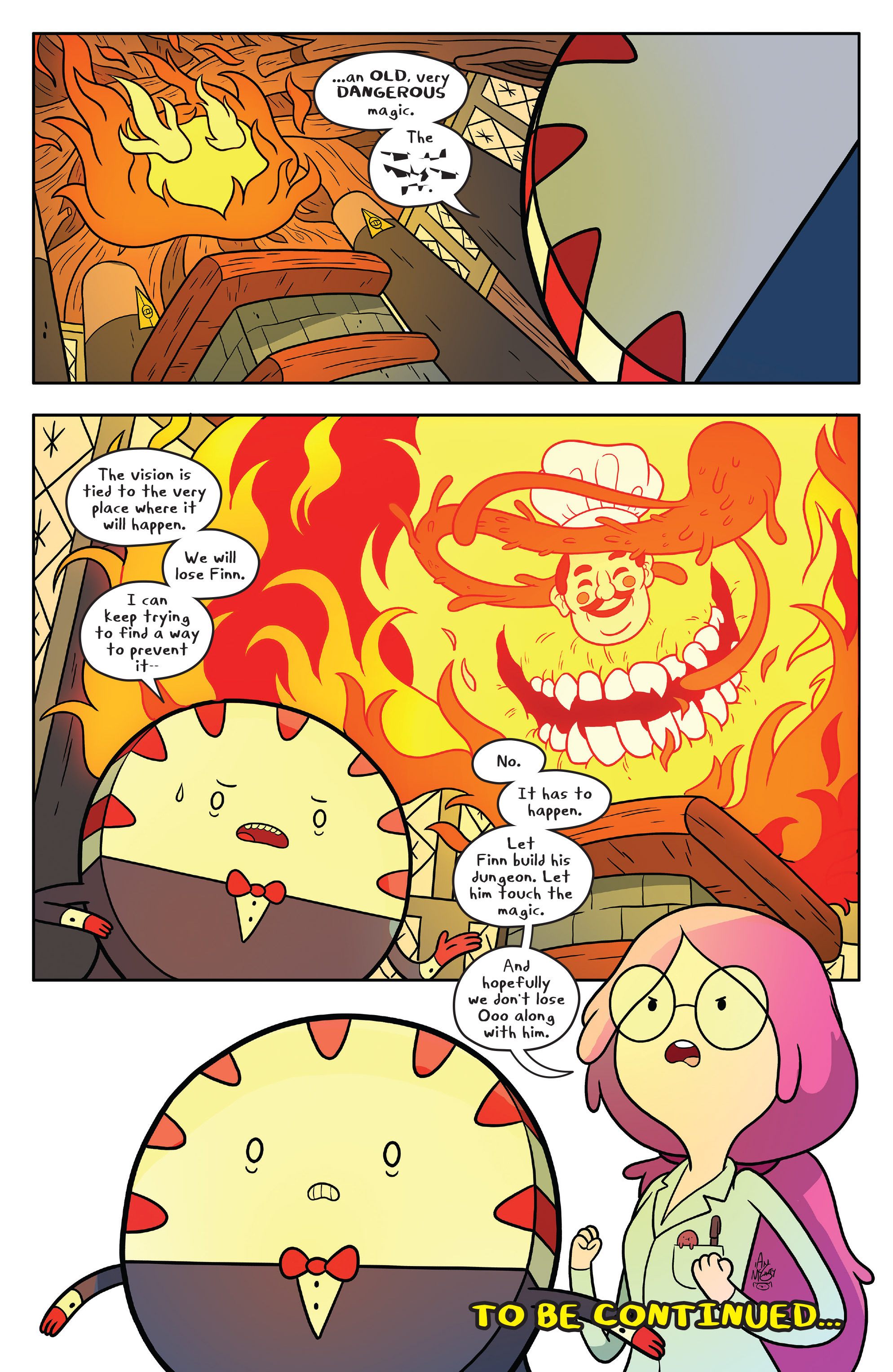 Read online Adventure Time comic -  Issue #58 - 24