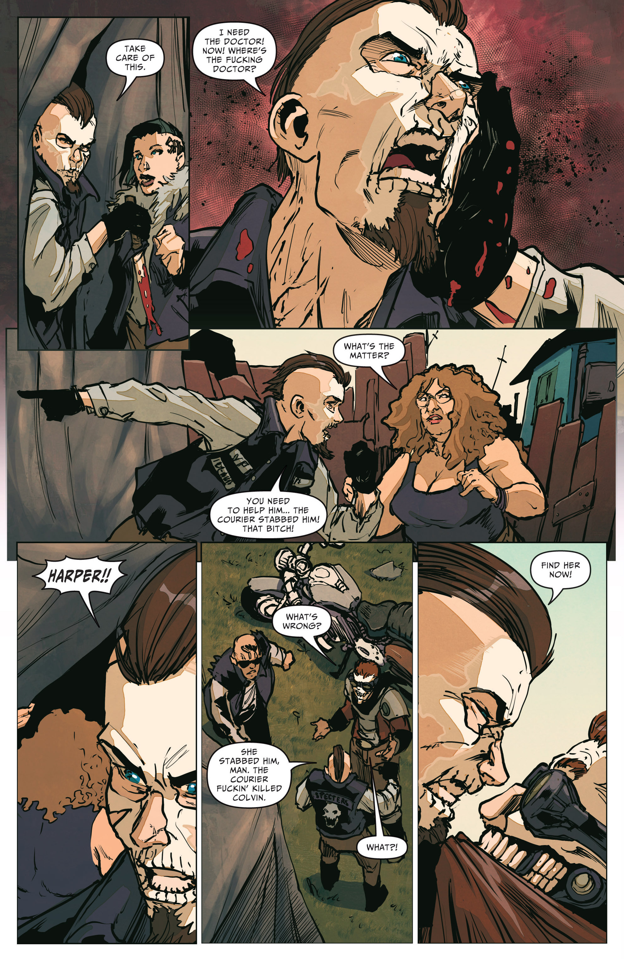 Read online The Courier comic -  Issue #2 - 20