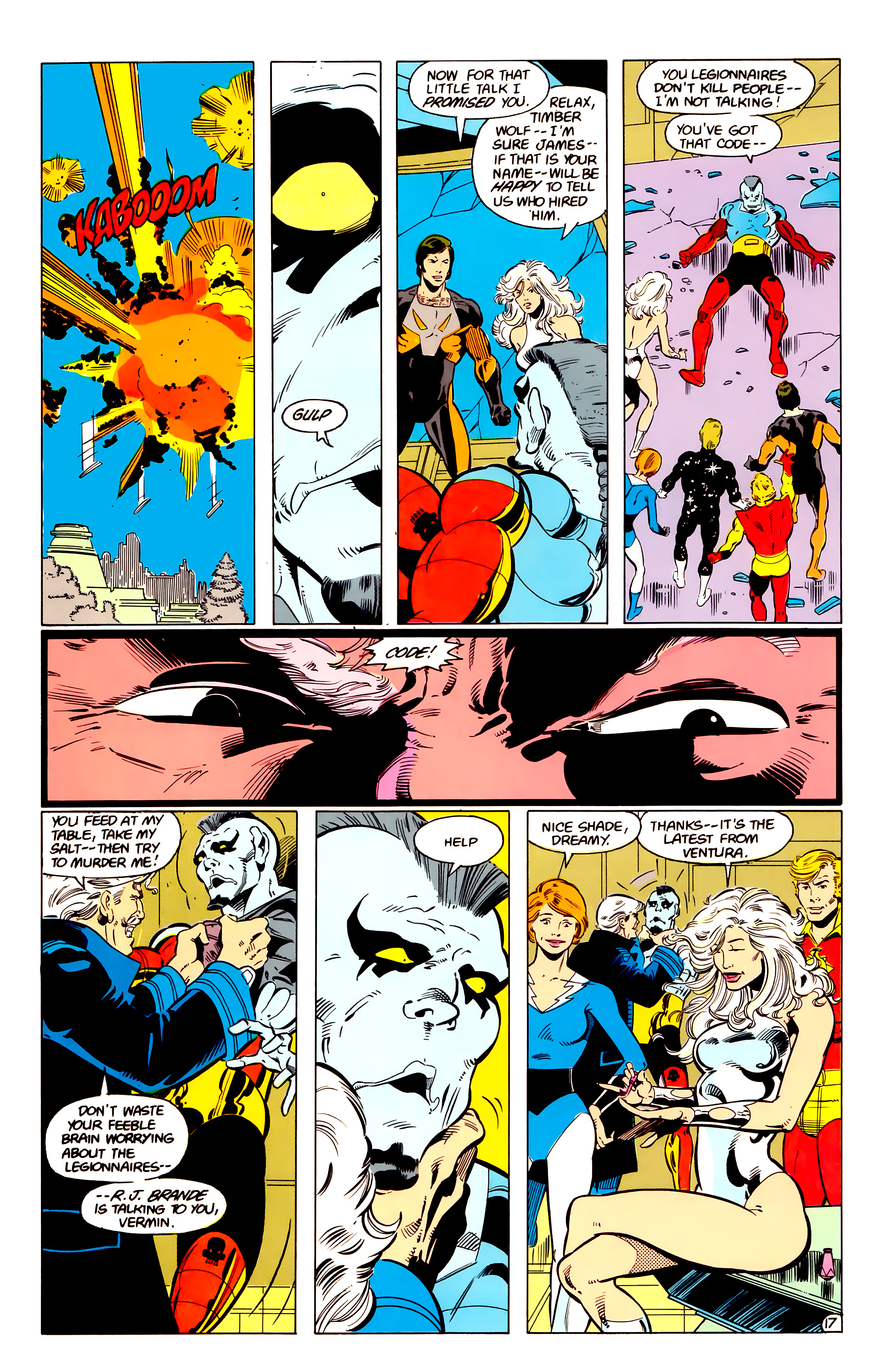 Legion of Super-Heroes (1984) 17 Page 18