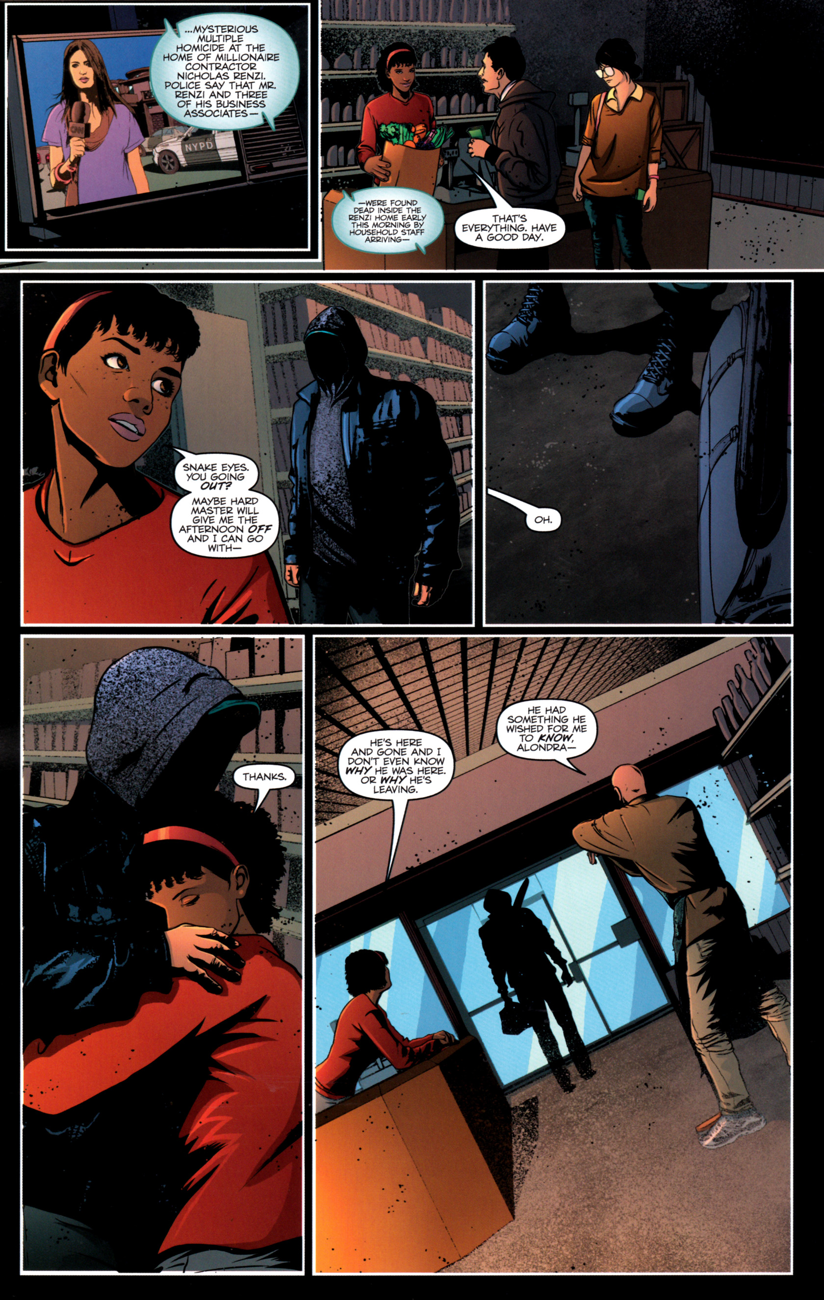 Read online G.I. Joe: Snake Eyes comic -  Issue #12 - 23