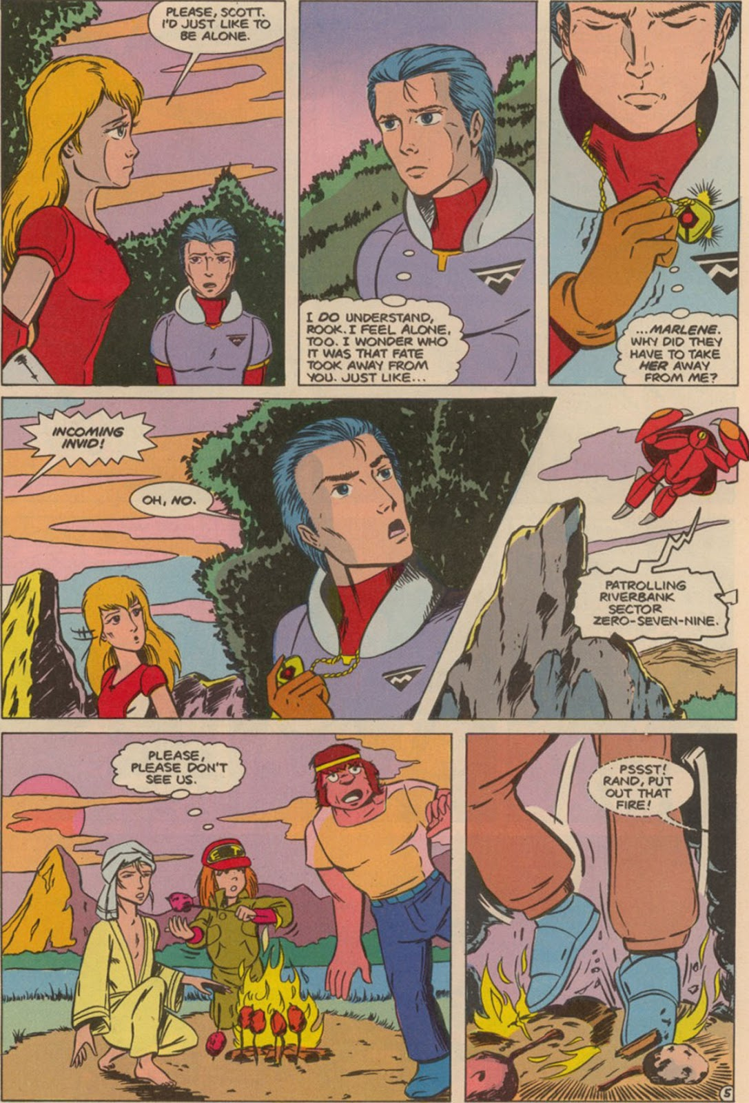 Robotech The New Generation issue 6 - Page 7