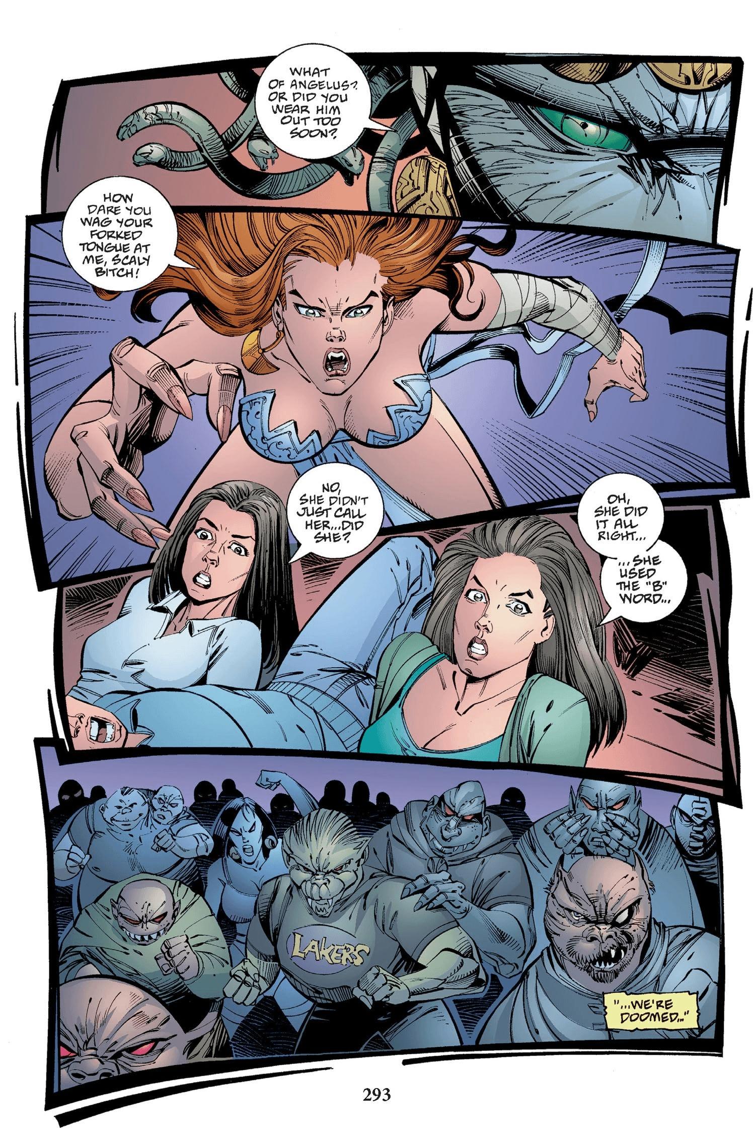 Read online Buffy the Vampire Slayer: Omnibus comic -  Issue # TPB 2 - 285