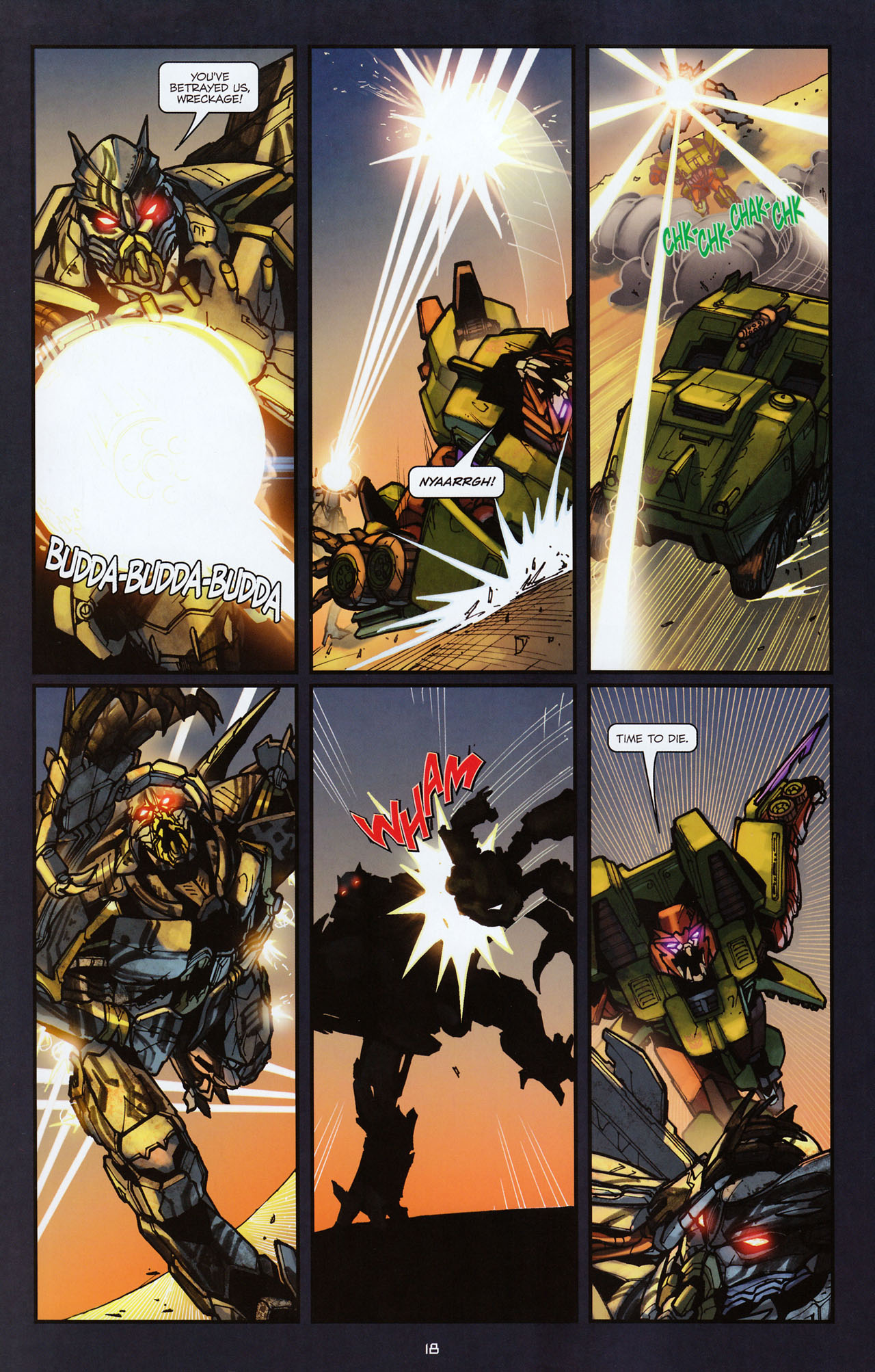 Read online Transformers: Alliance comic -  Issue #2 - 21
