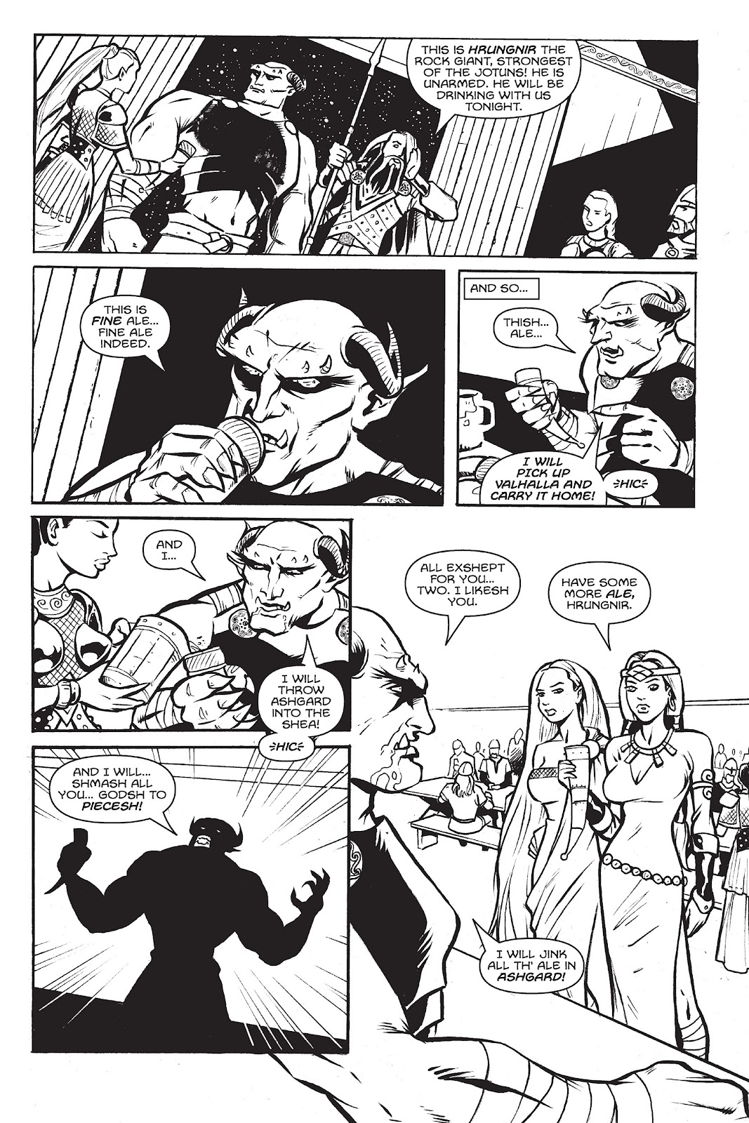 Read online Gods of Asgard comic -  Issue # TPB (Part 2) - 6