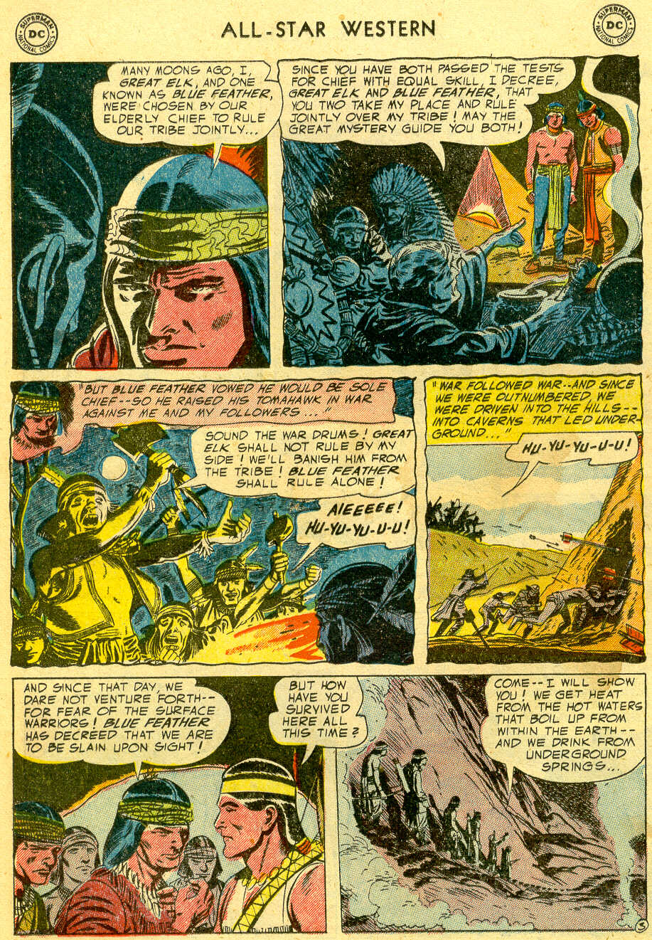 Read online All-Star Western (1951) comic -  Issue #82 - 12