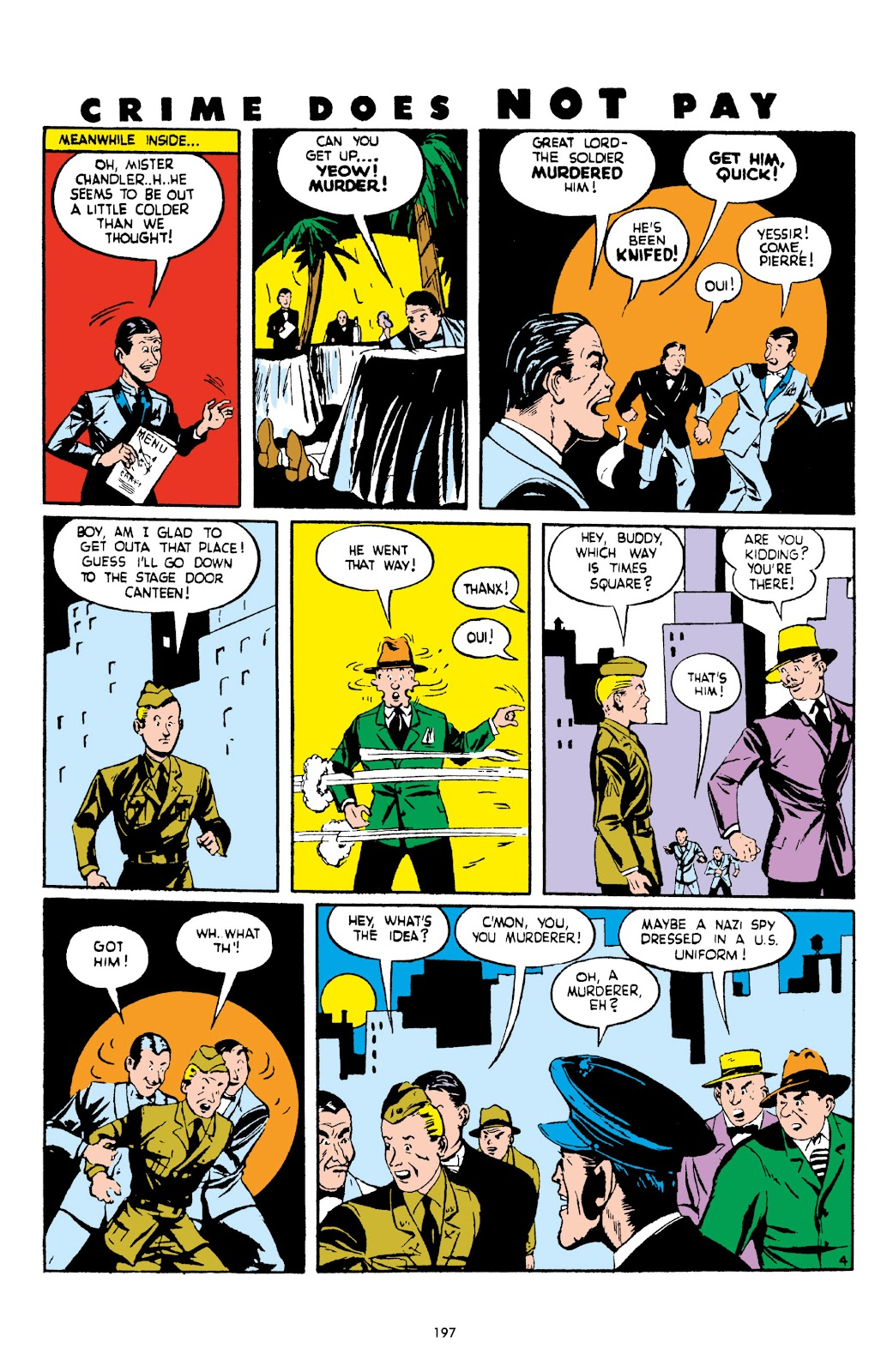 Read online Crime Does Not Pay Archives comic -  Issue # TPB 2 (Part 2) - 97