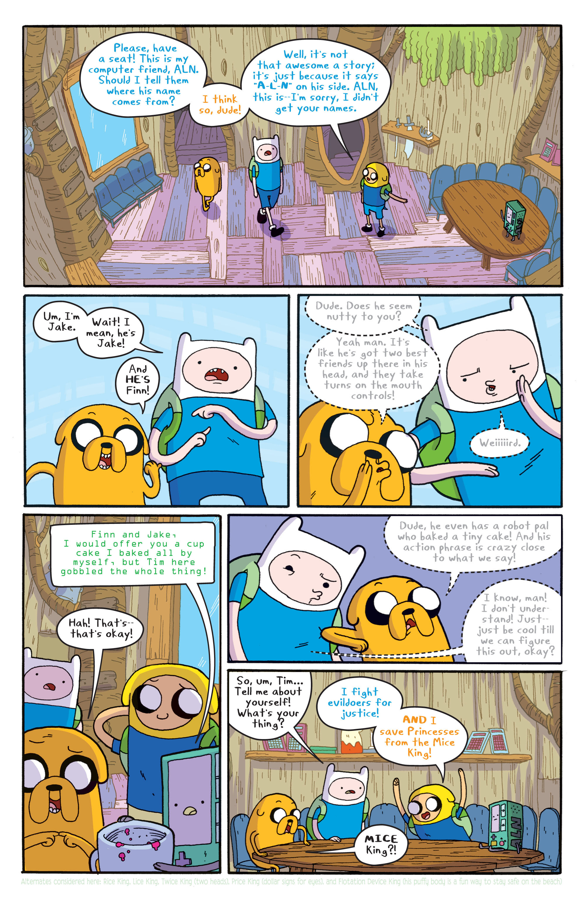 Read online Adventure Time comic -  Issue #5 - 16