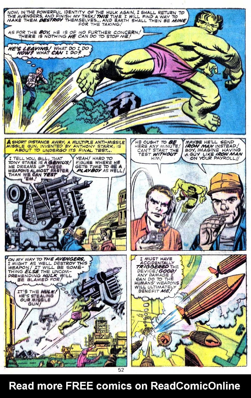 Giant-Size Avengers (1974) issue 3 - Page 54