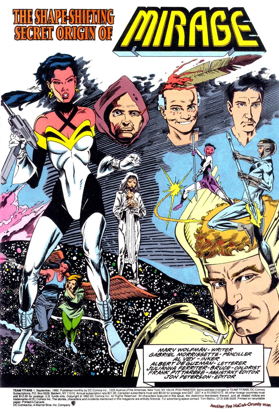 Read online Team Titans comic -  Issue #1b - 2