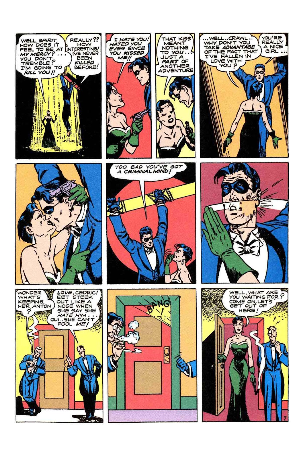 Read online Will Eisner's The Spirit Archives comic -  Issue # TPB 2 (Part 1) - 87