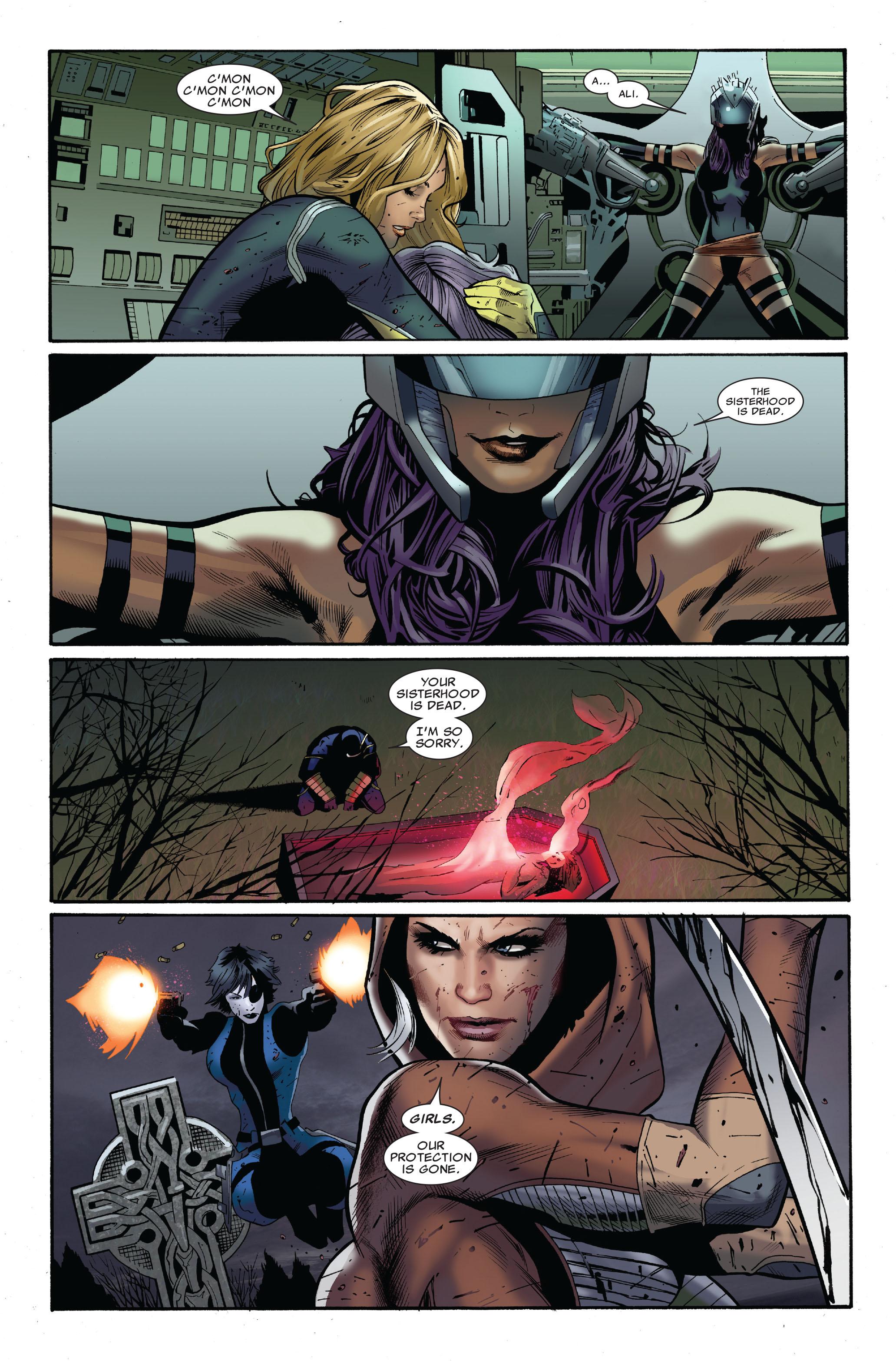 Read online Uncanny X-Men (1963) comic -  Issue #511 - 24
