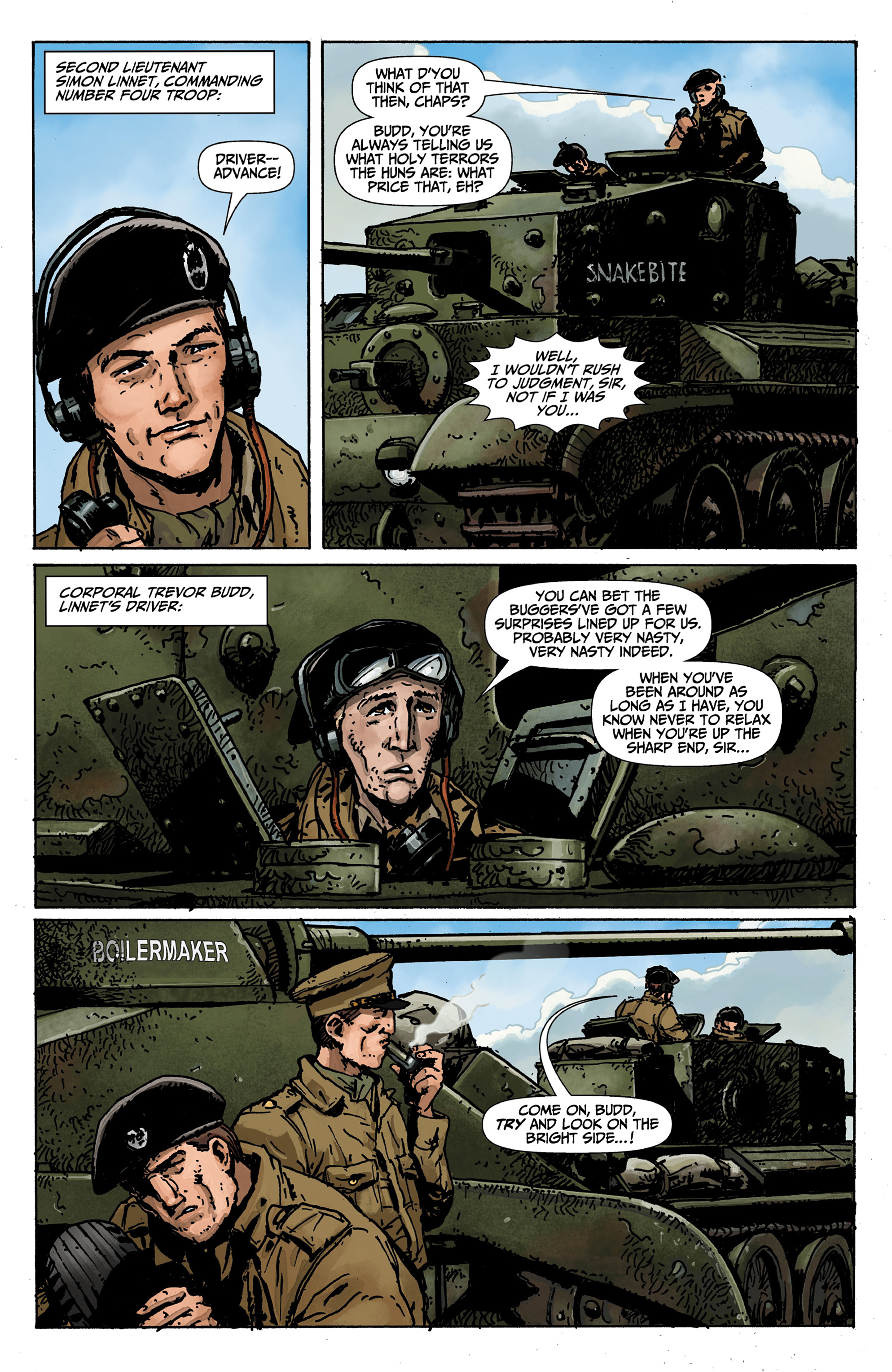 Read online World of Tanks comic -  Issue #1 - 5