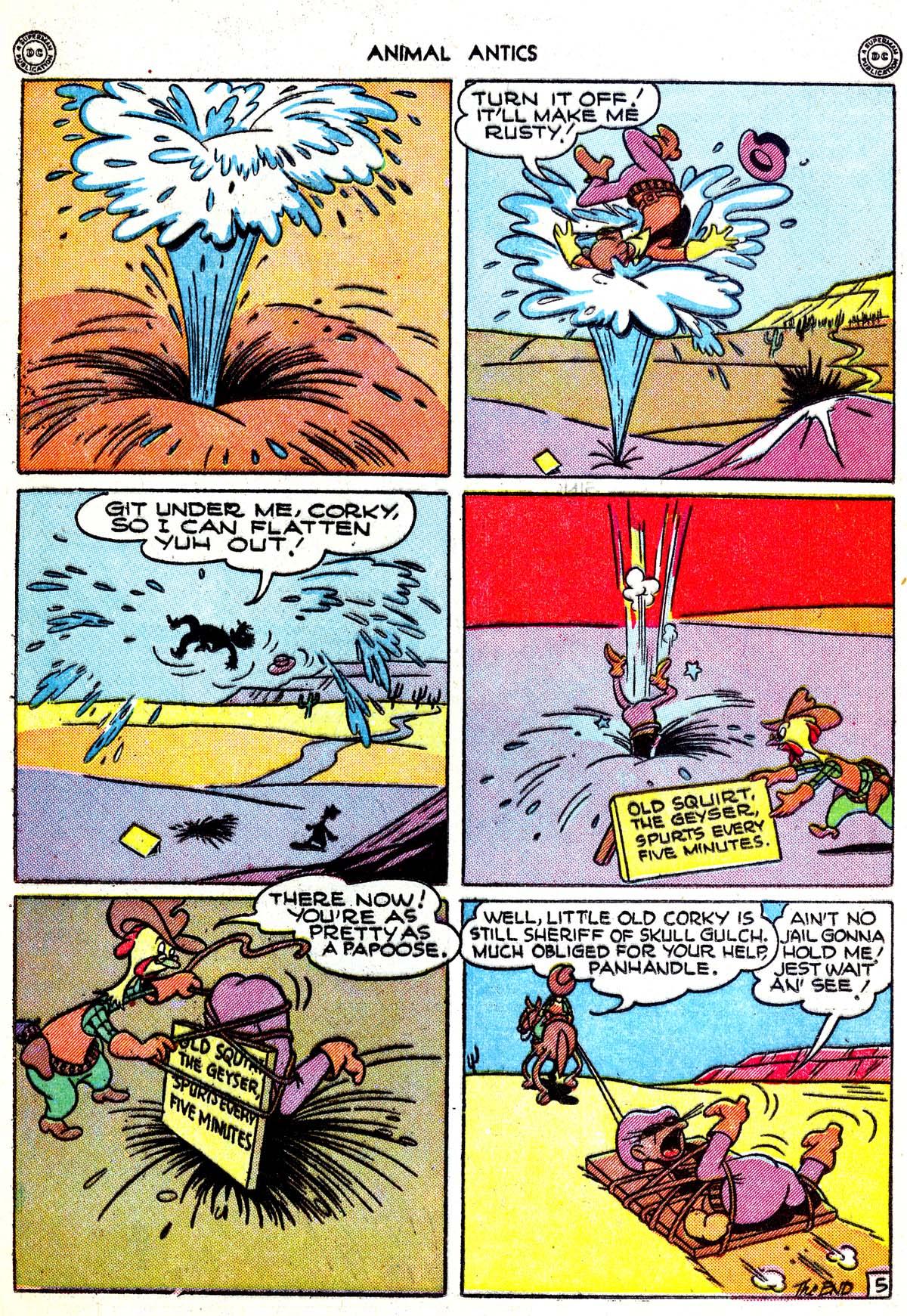 Read online Animal Antics comic -  Issue #1 - 16