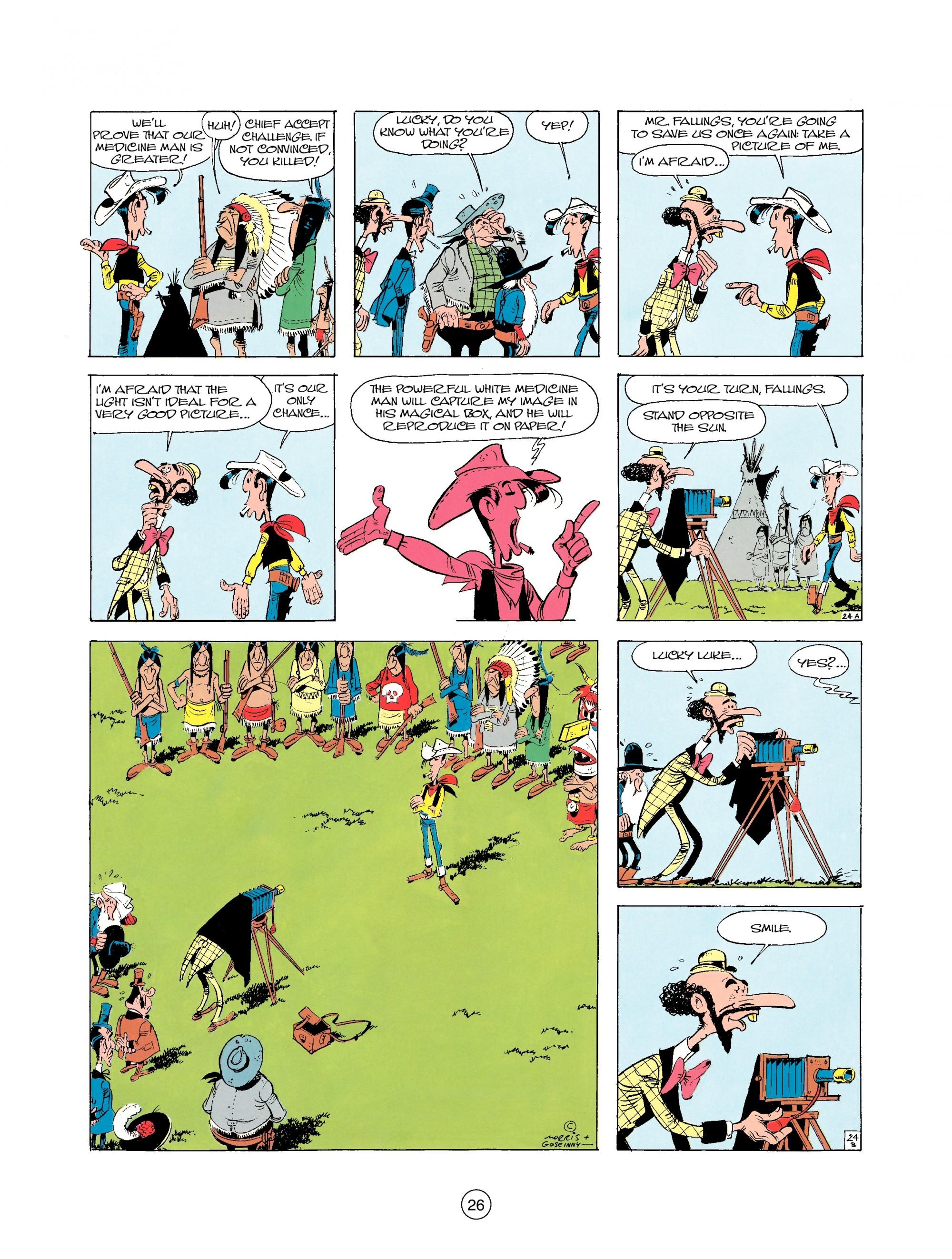 Read online A Lucky Luke Adventure comic -  Issue #25 - 26