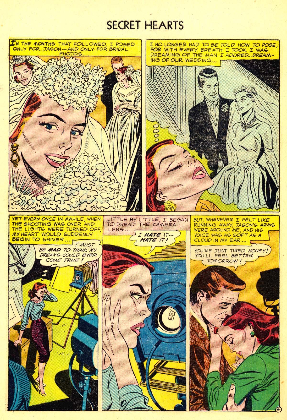 Read online Secret Hearts comic -  Issue #34 - 32